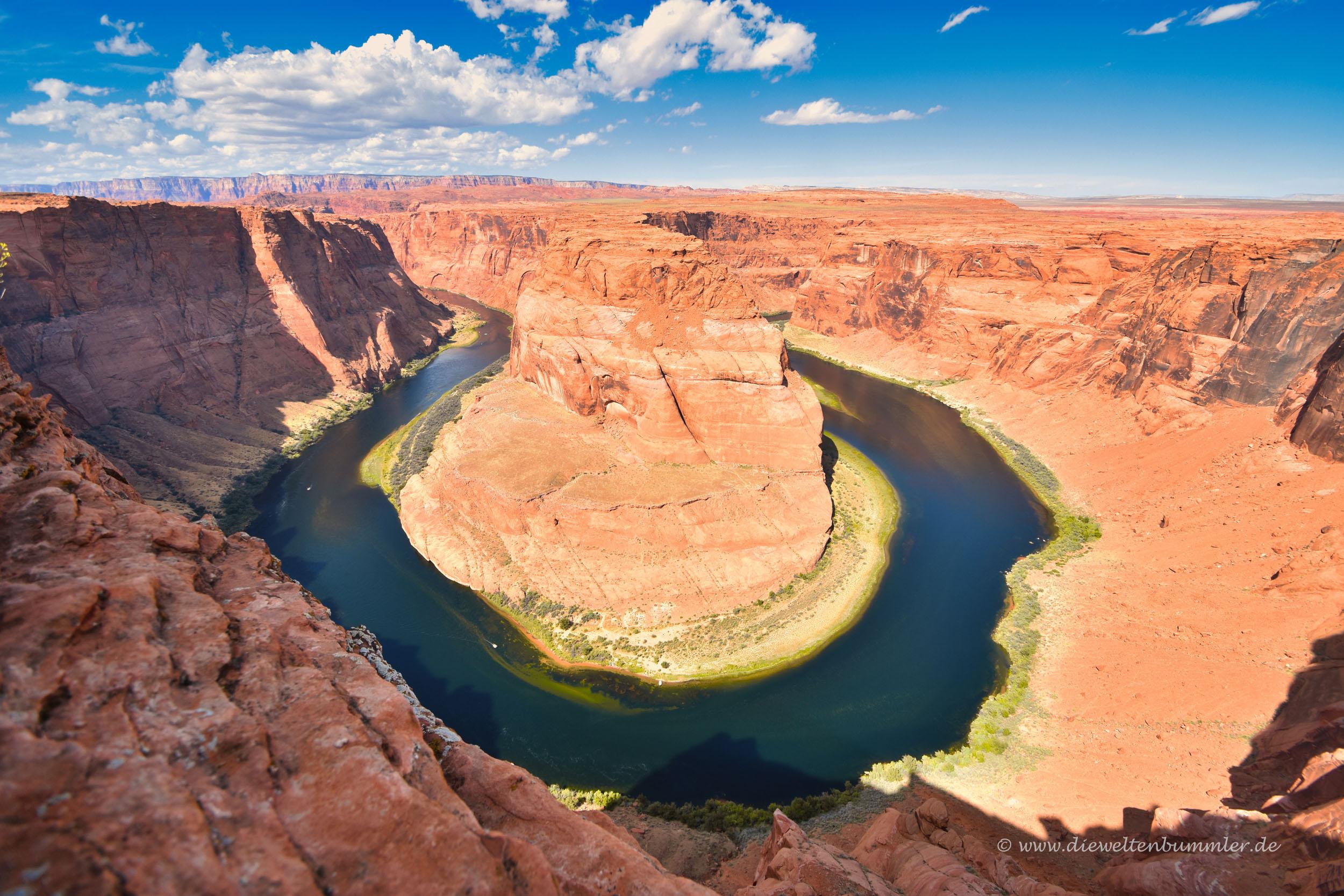 Flussschleife in Utah