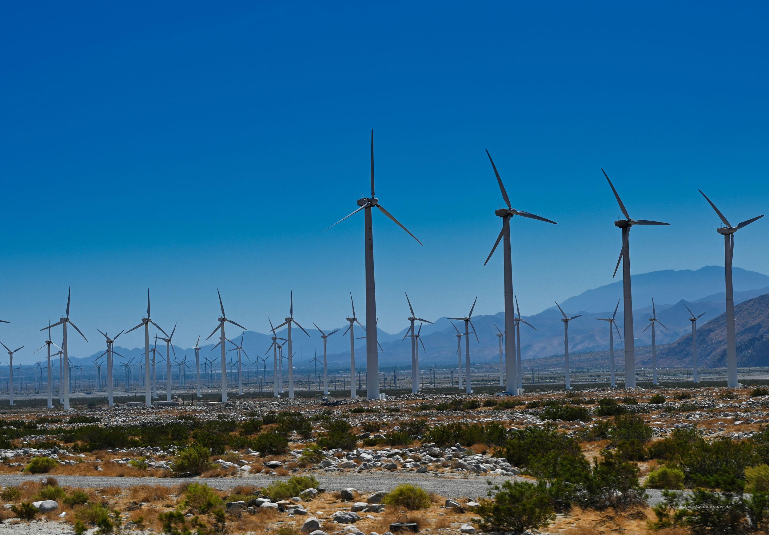 Windkraft in Kalifornien