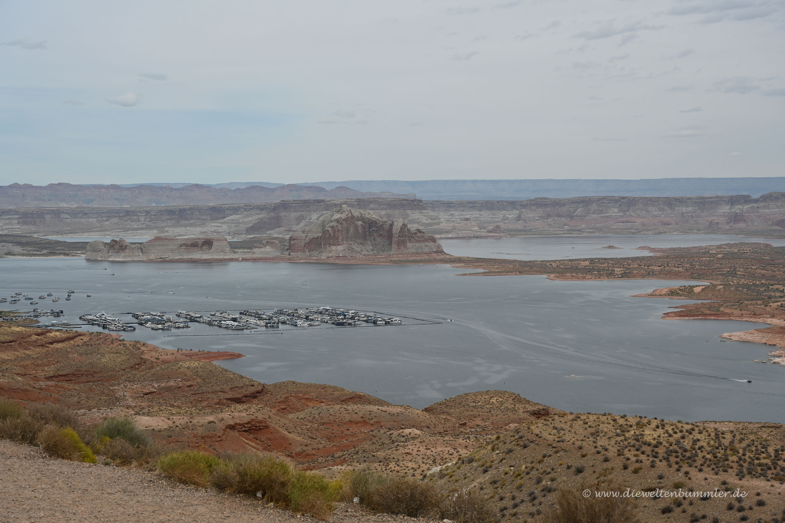 Teil des Lake Powell