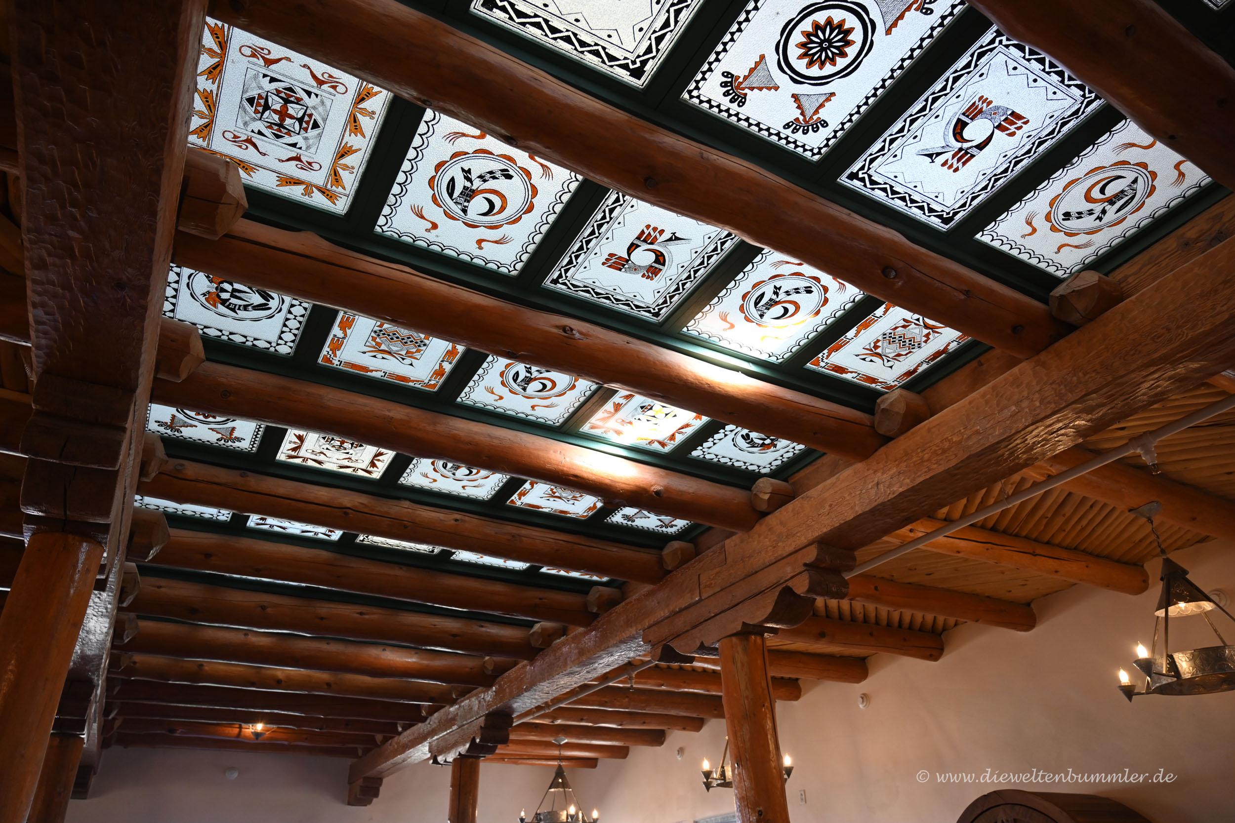 Dach ausgeschmückt