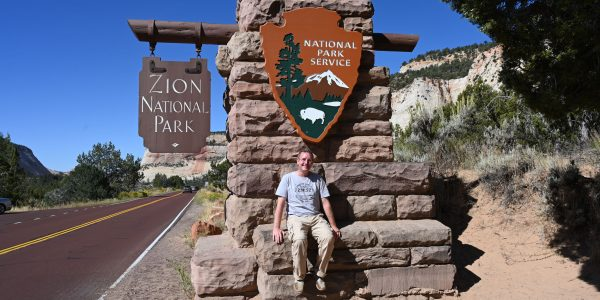 Michael Moll am Zion Nationalpark