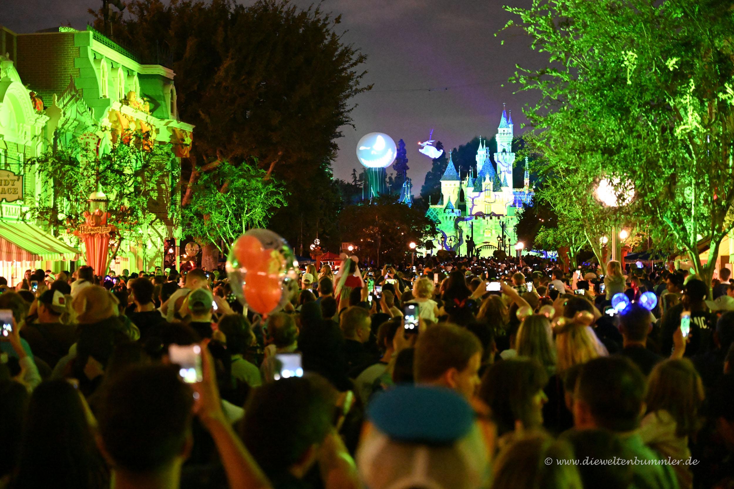 Lasershow vor dem Schloss