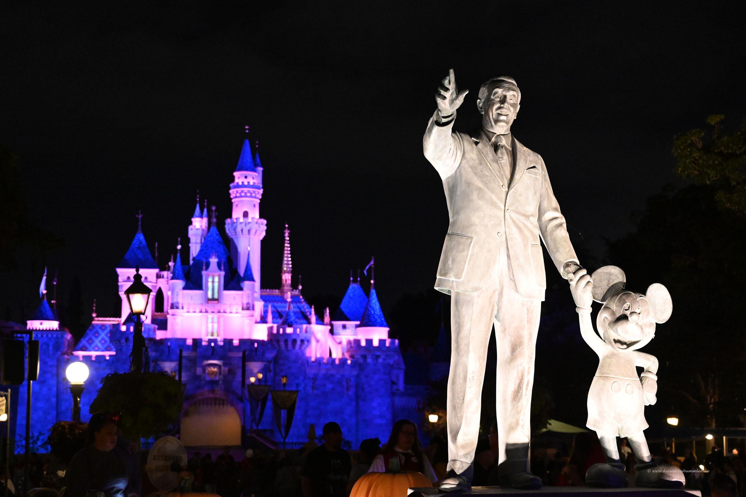 Walt Disney im Disneyland