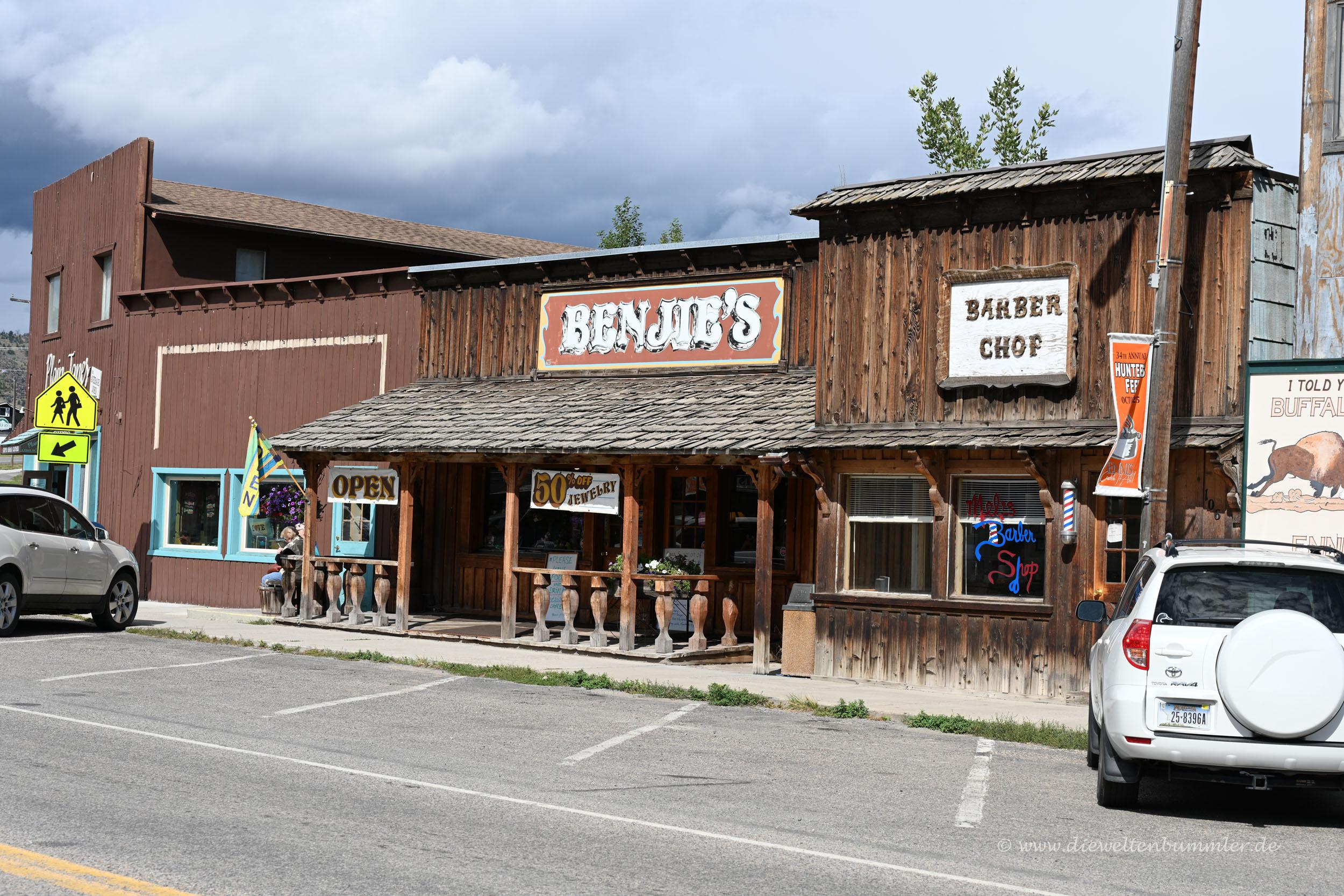 Ennis in Montana