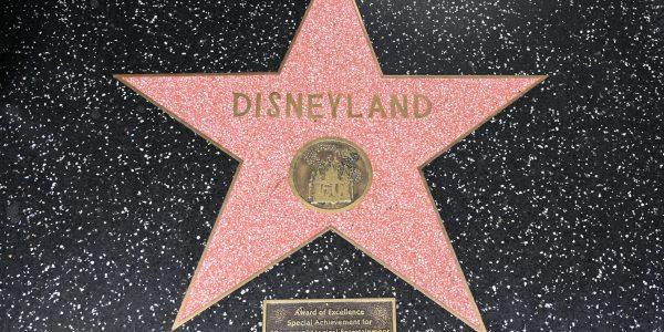 Stern für das Disneyland
