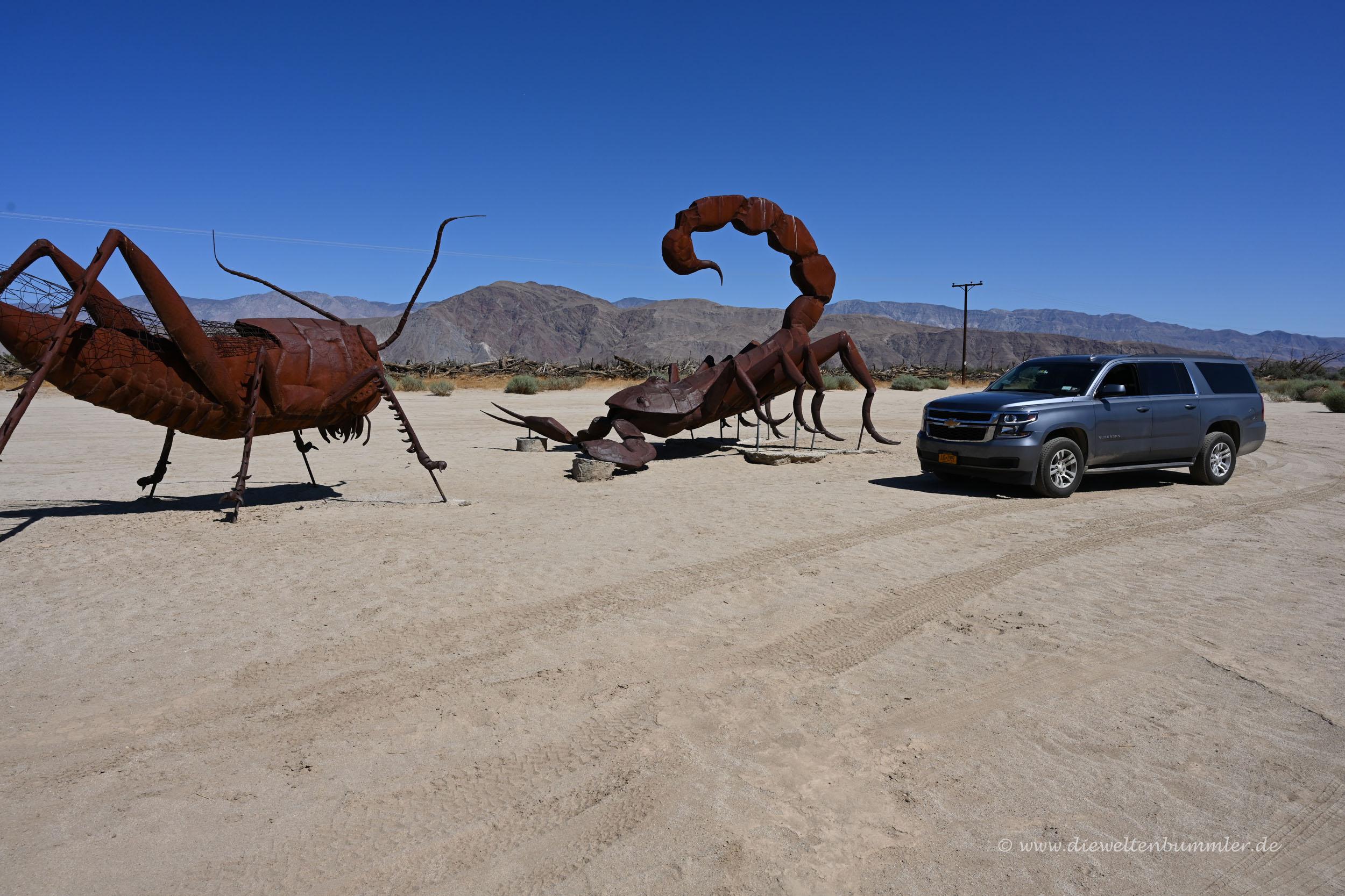 Riesiger Skorpion