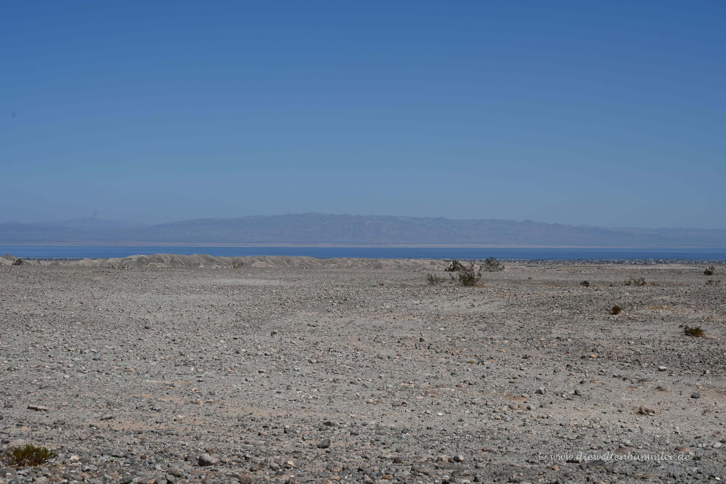 Landschaft in der kalifornischen Wüste