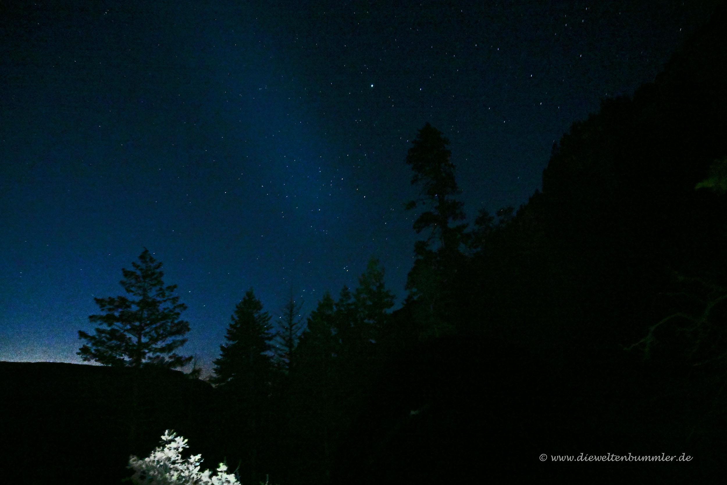 Sternenhimmel über dem Grand Canyon