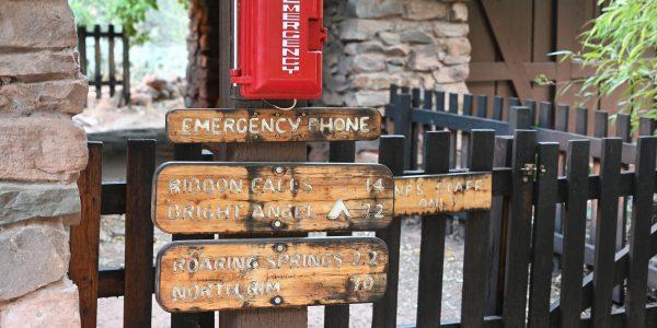 Rettungsstation für den Notfall