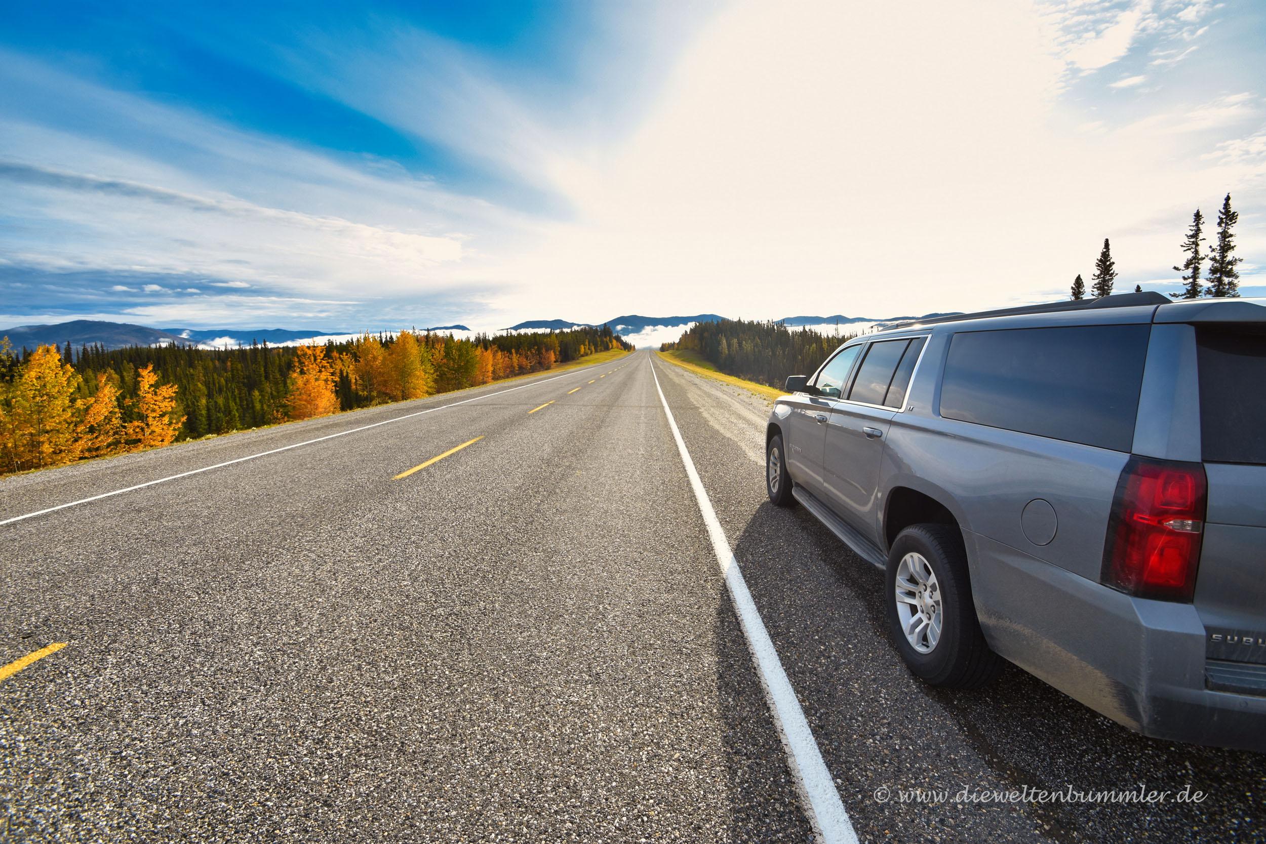Alaska Highway im Yukon