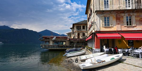 Am Ufer des Lago d'Orta