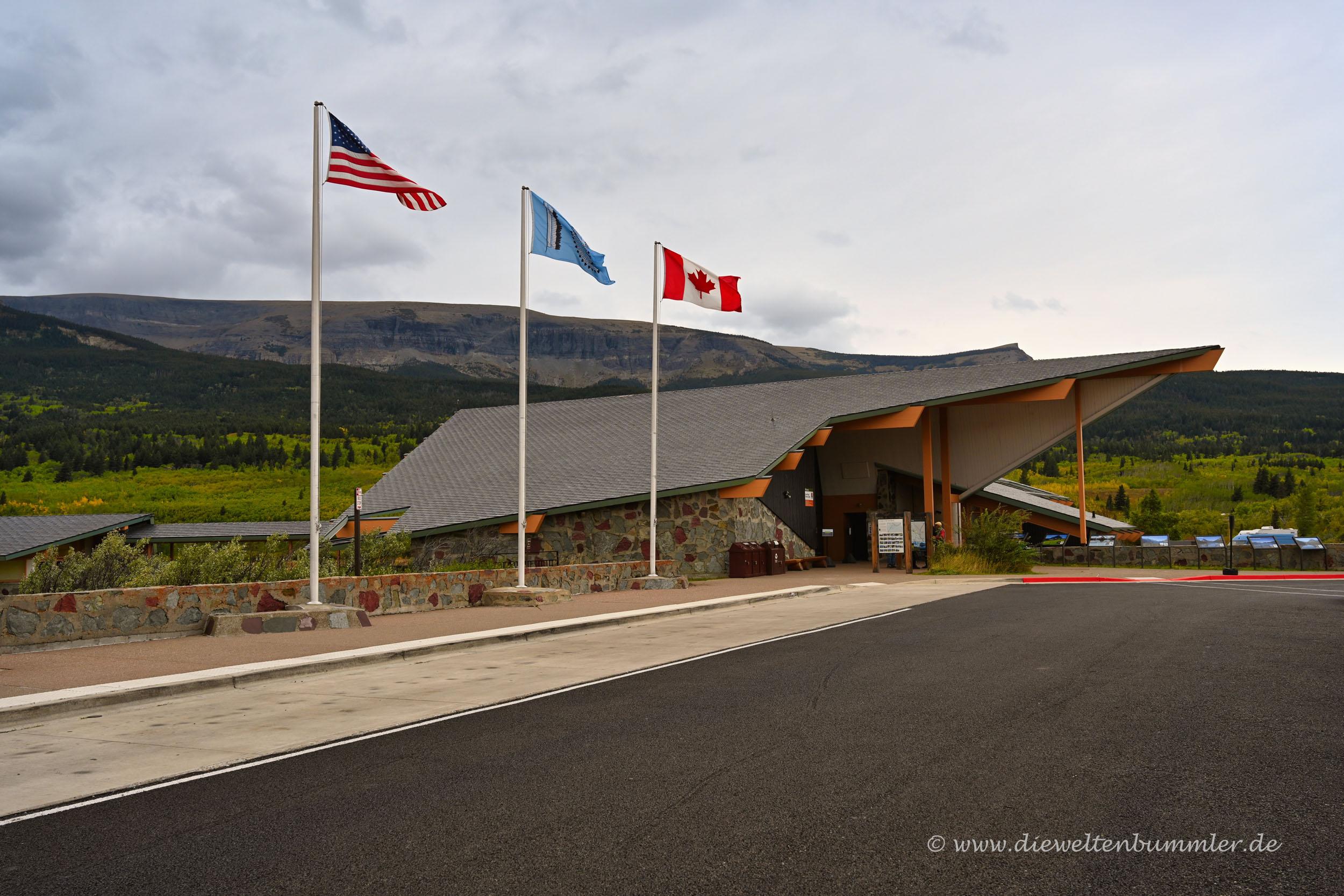 Besucherzentrum vom Glacier Nationalpark