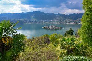 Blick über den Lago d'Orta