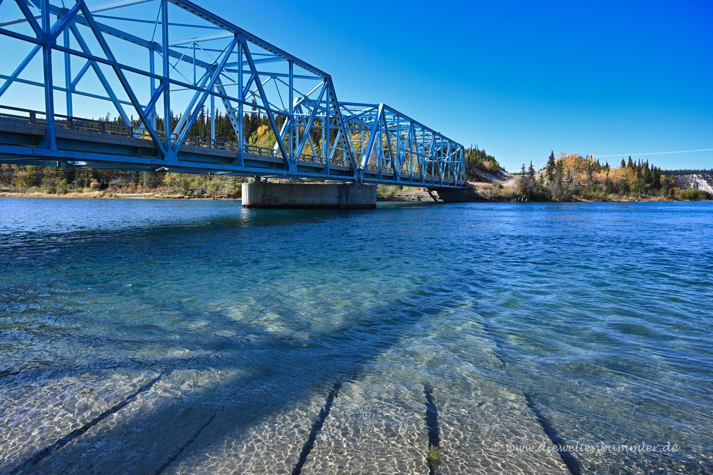 Brücke über den Yukon