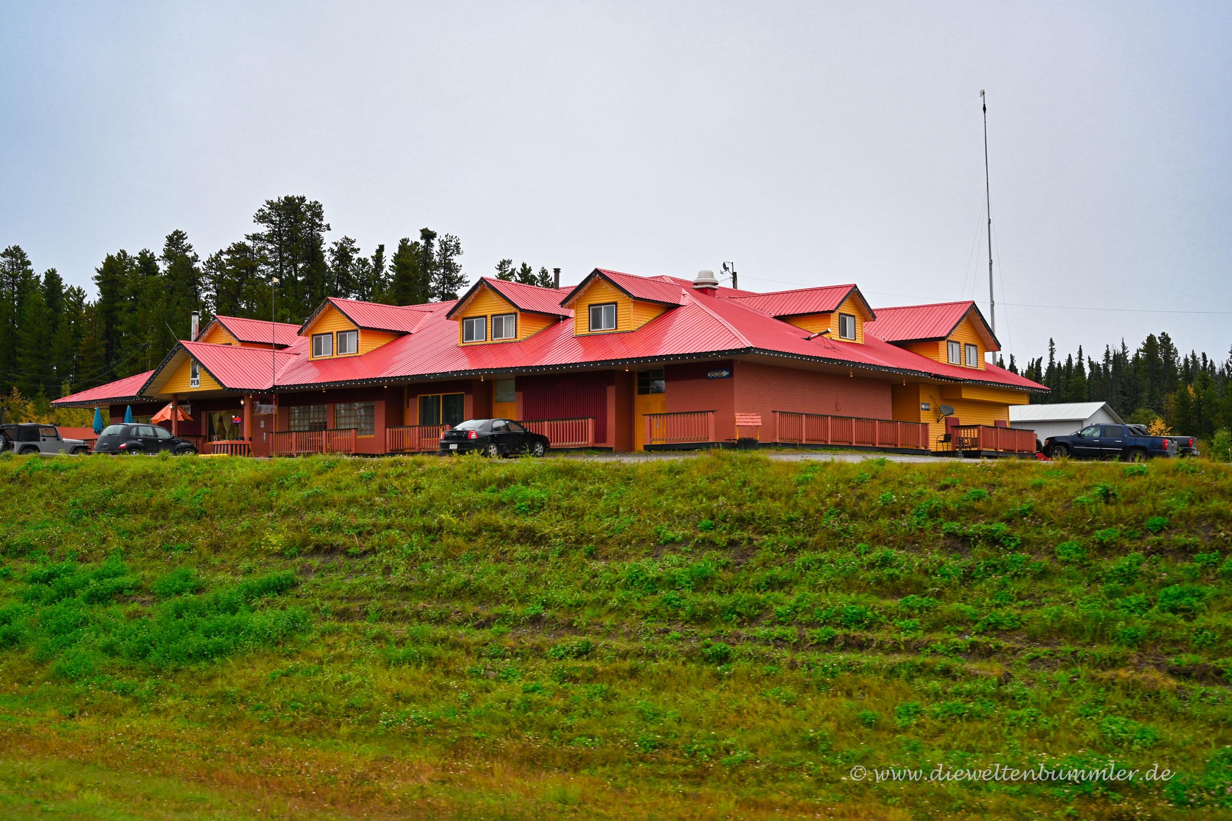 Buffalo Inn in Pink Mountain