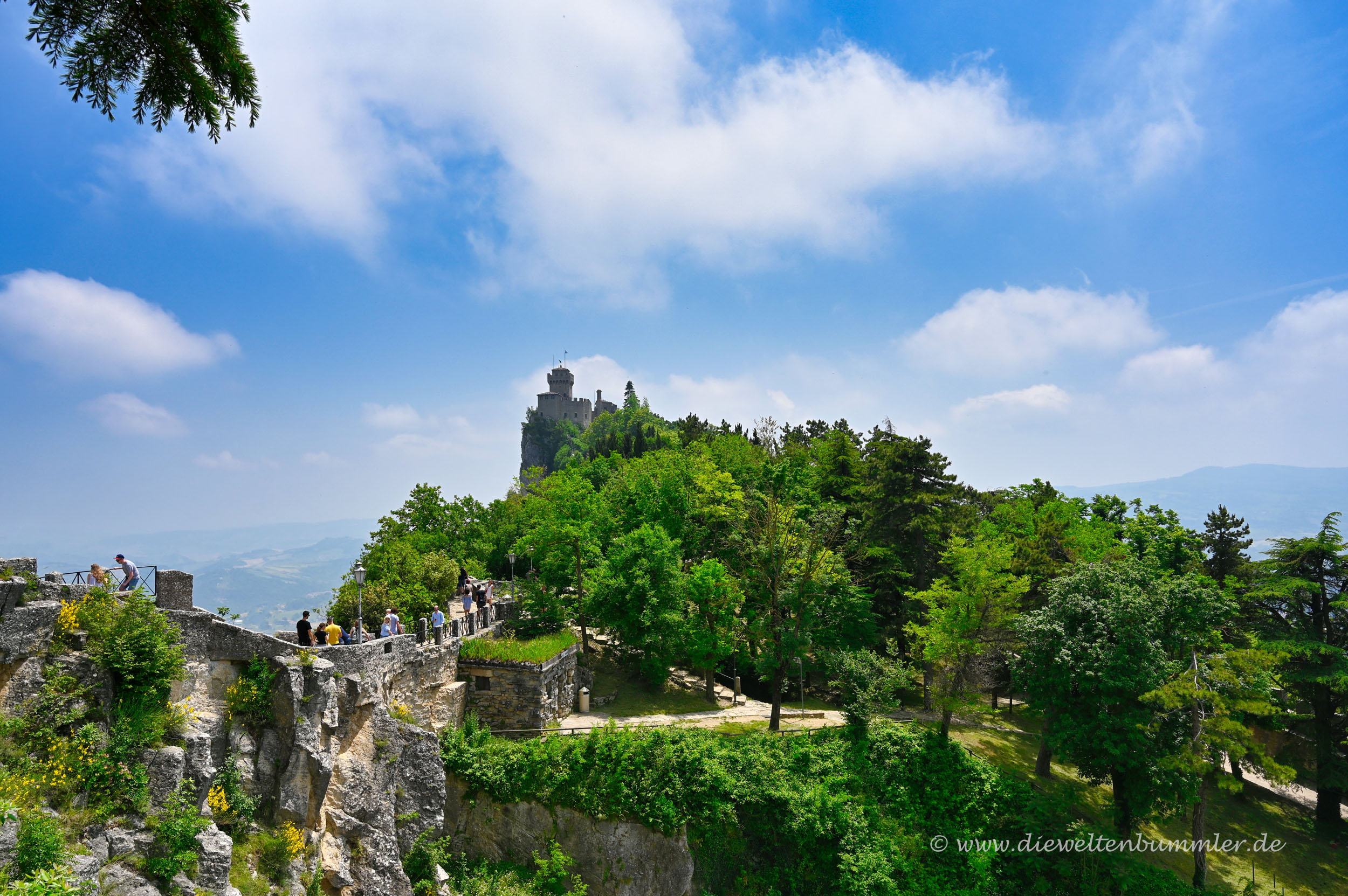 Burg in San Marino