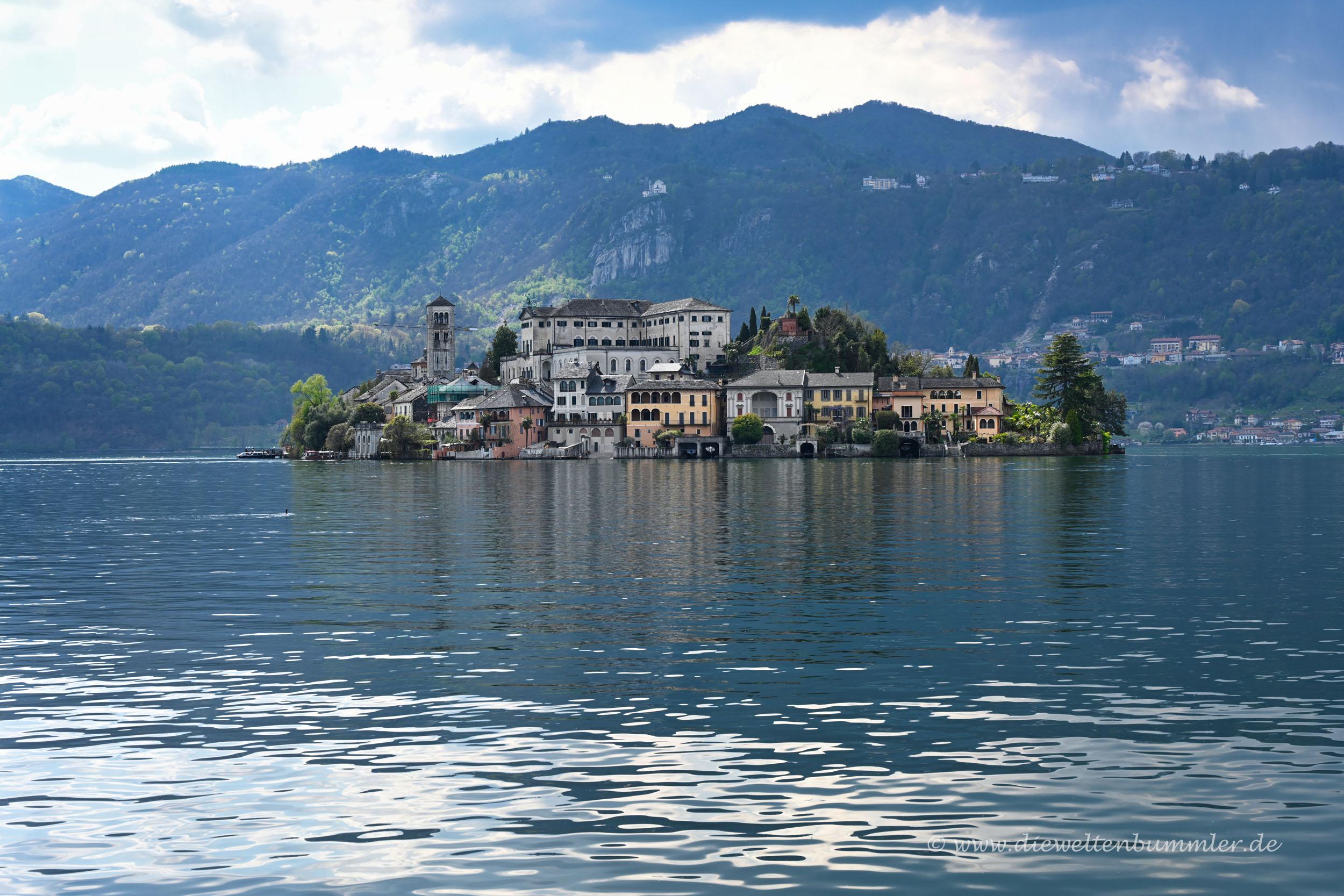 Die Insel im Lago d'Orta