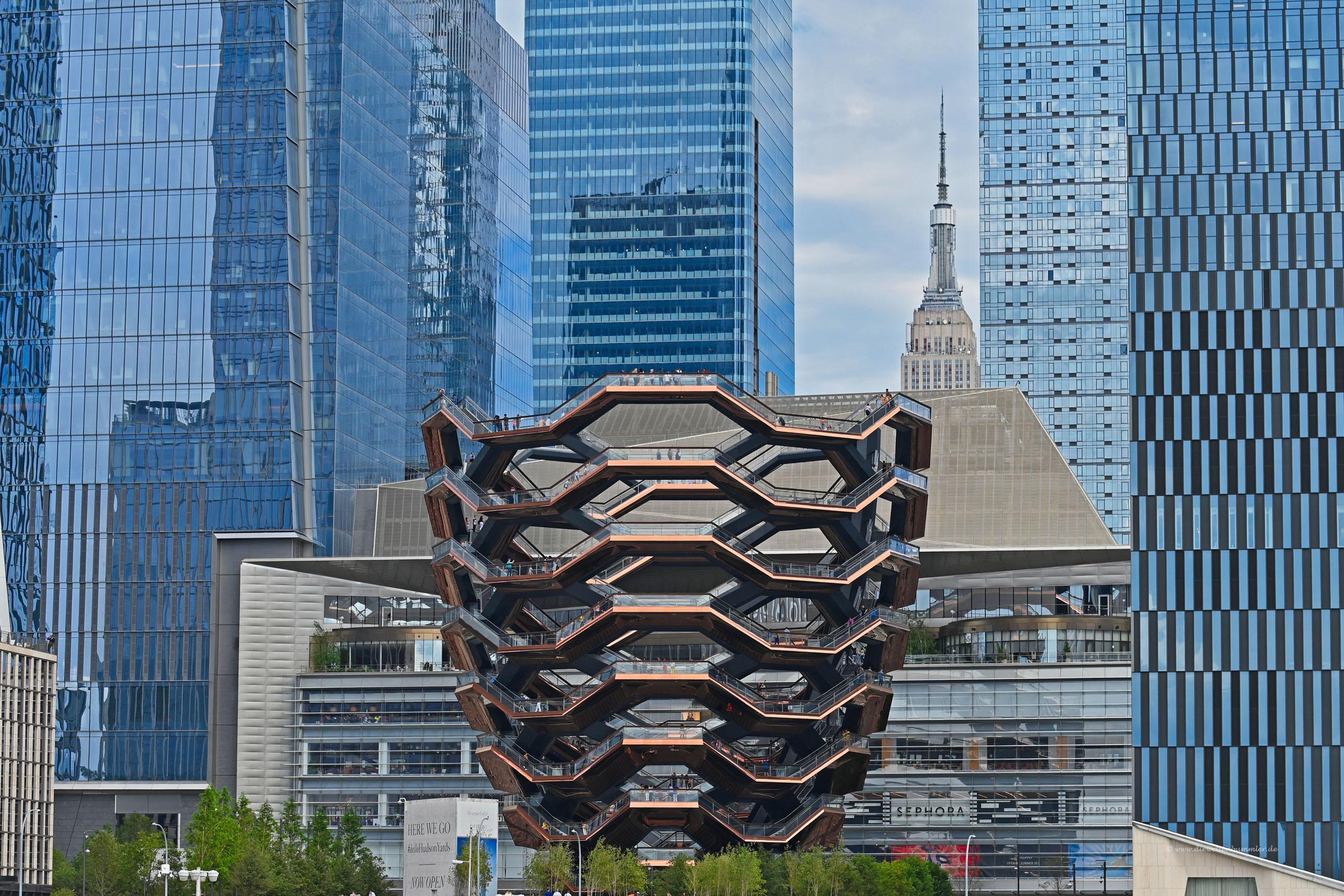 Eine Vase in Manhattan