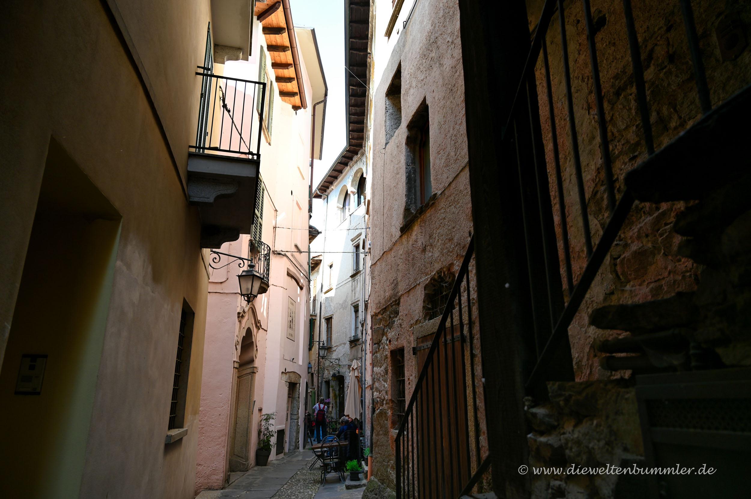 Enge Gasse in San Giulio
