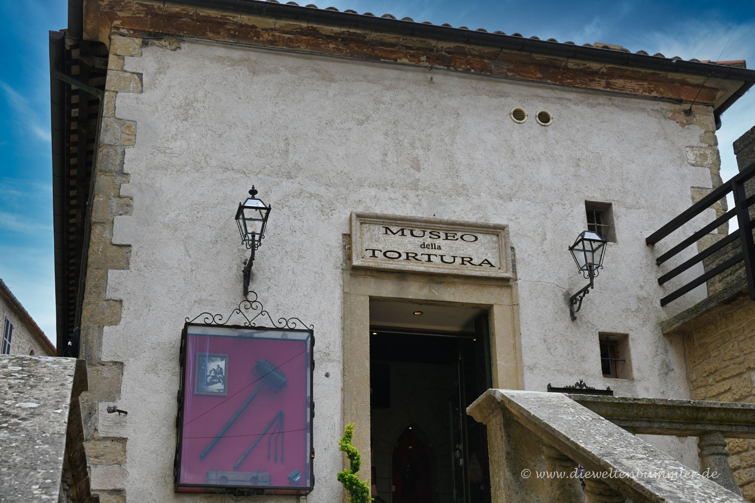 Foltermuseum in San Marino