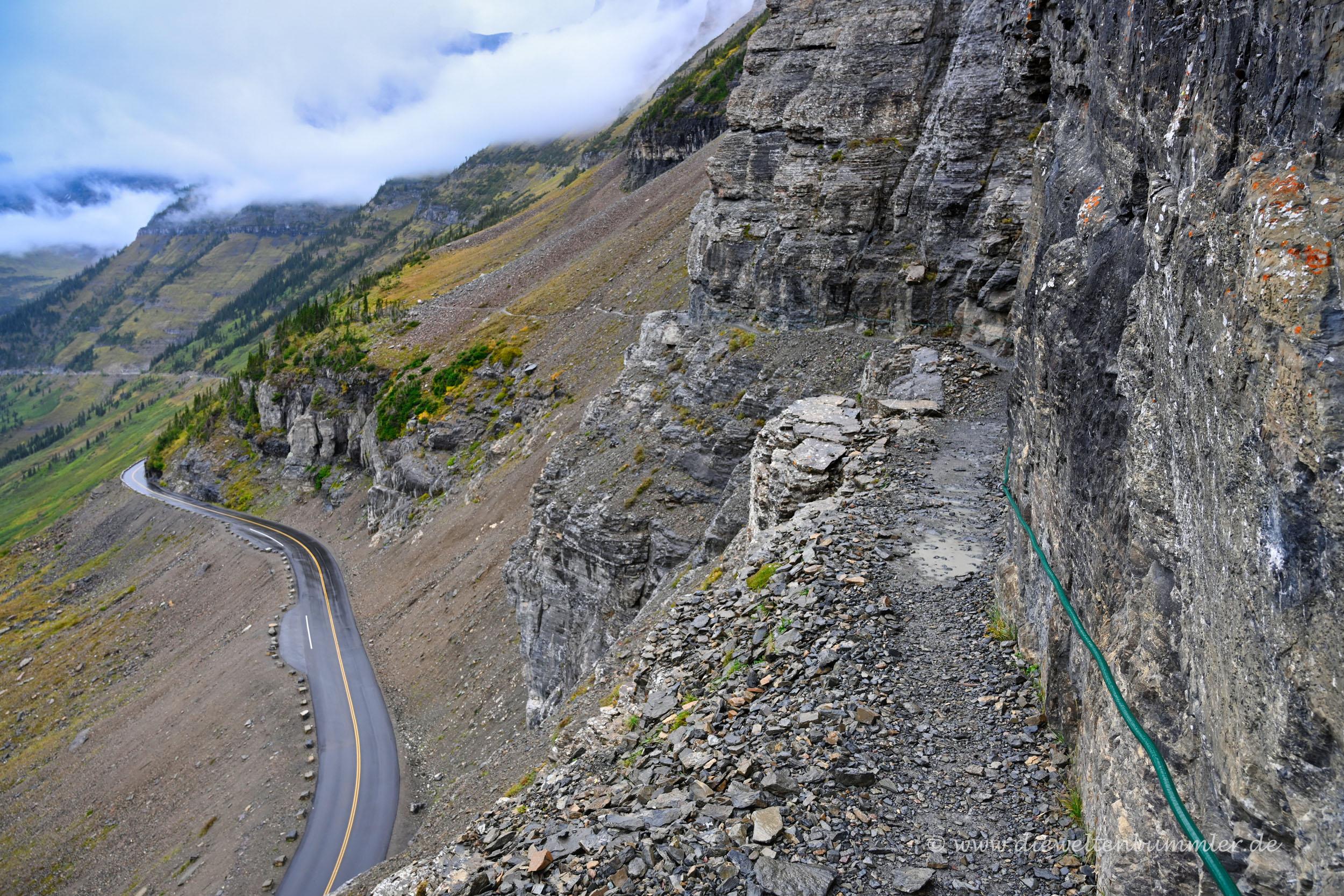 Highline Trail mit Handlauf