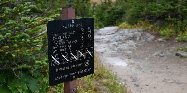 Hiking Trail im Nationalpark