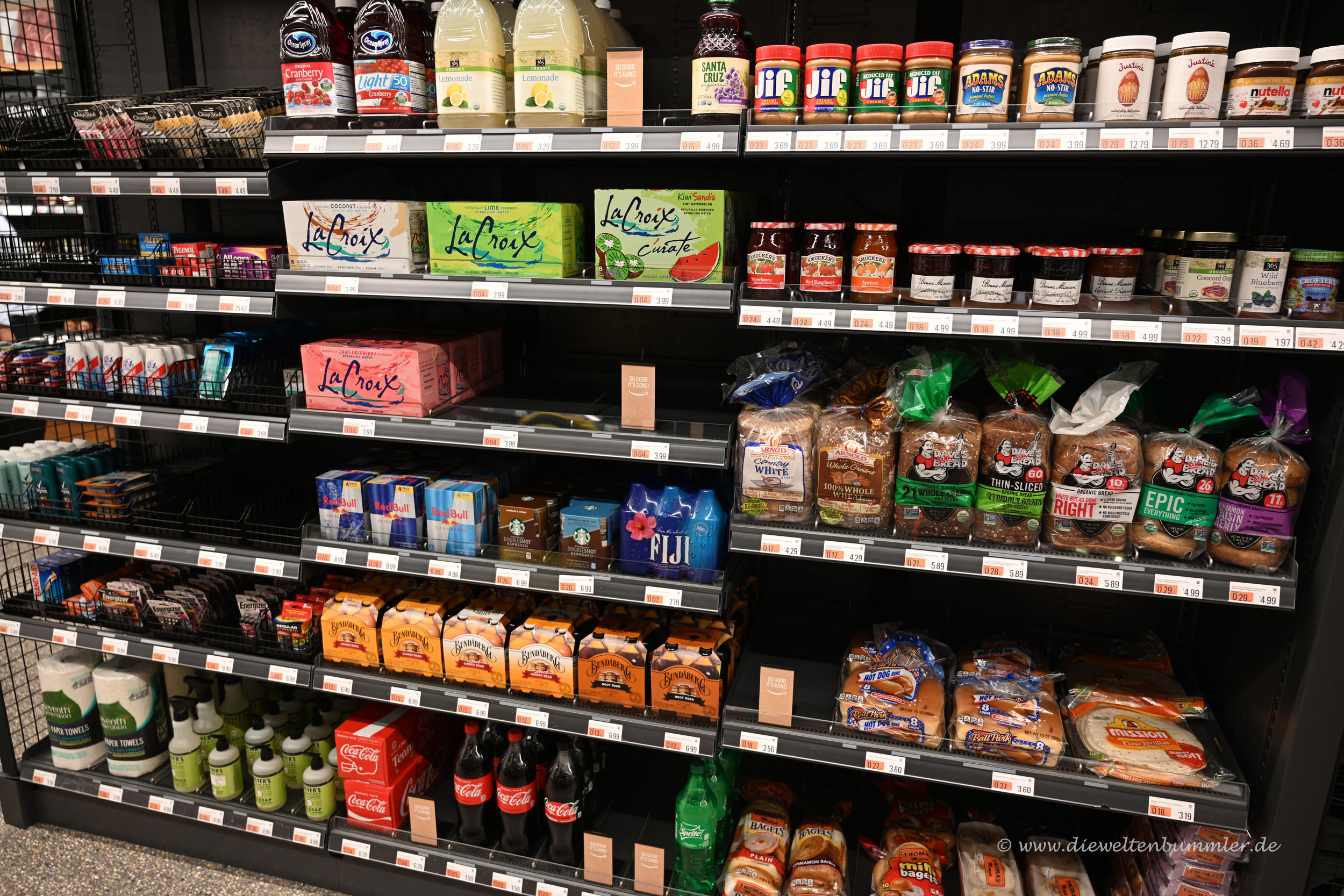 Lebensmittel bei Amazon Go