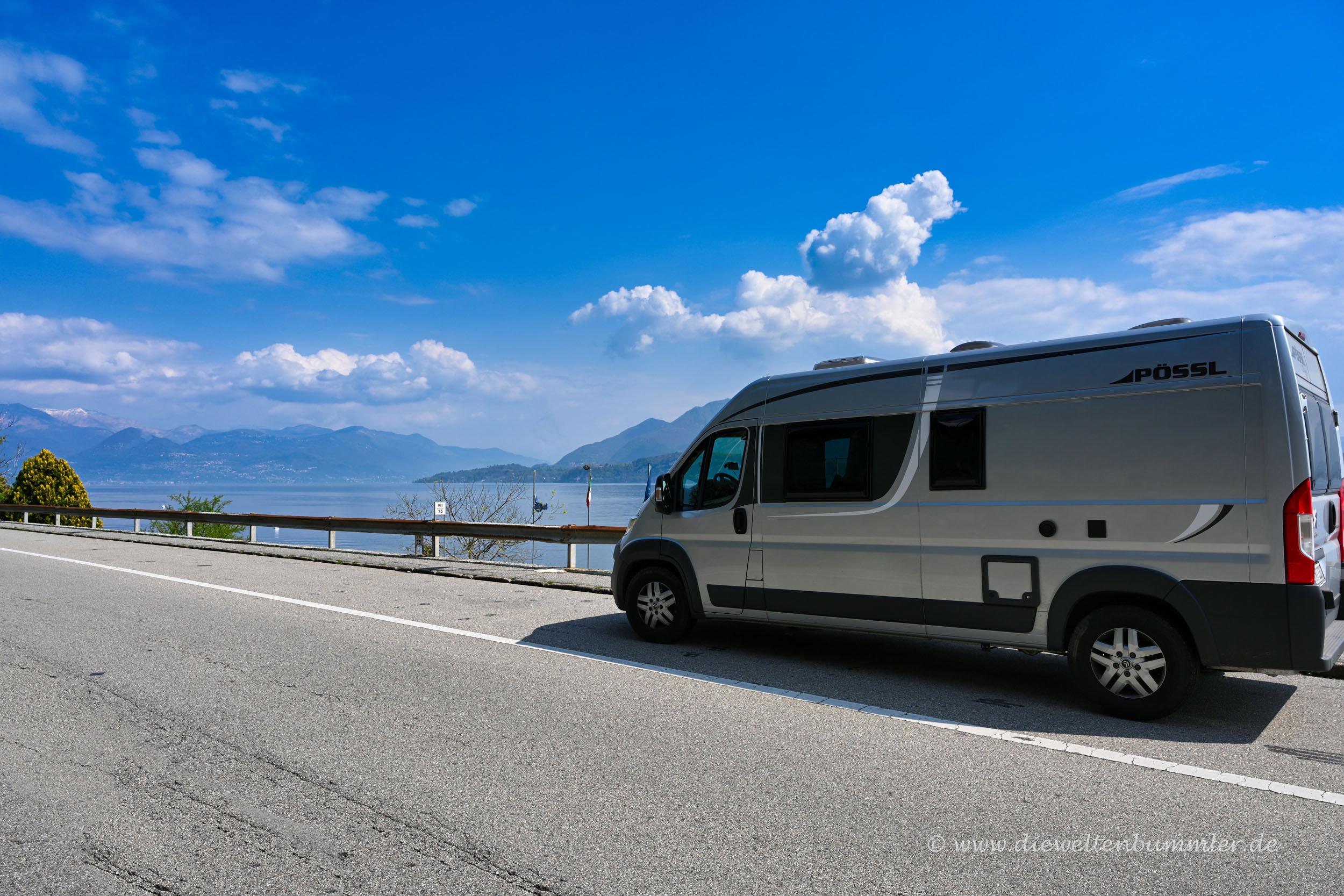 Mit dem Wohnmobil zum Lago Maggiore