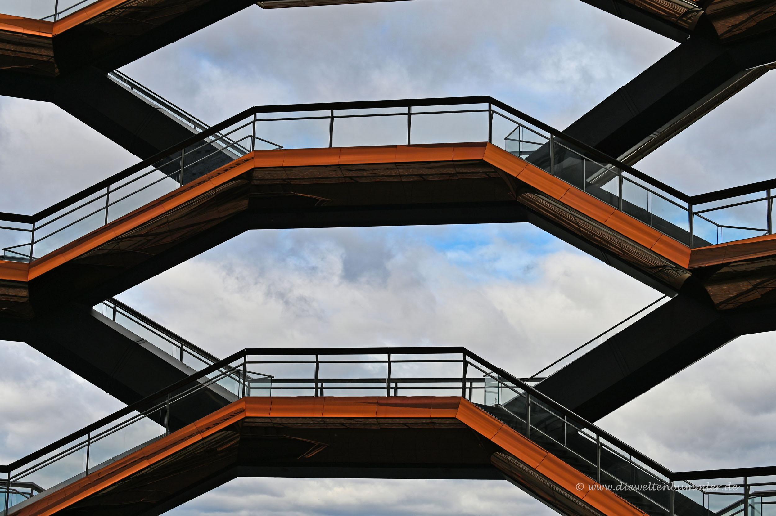 Plattformen und Treppen
