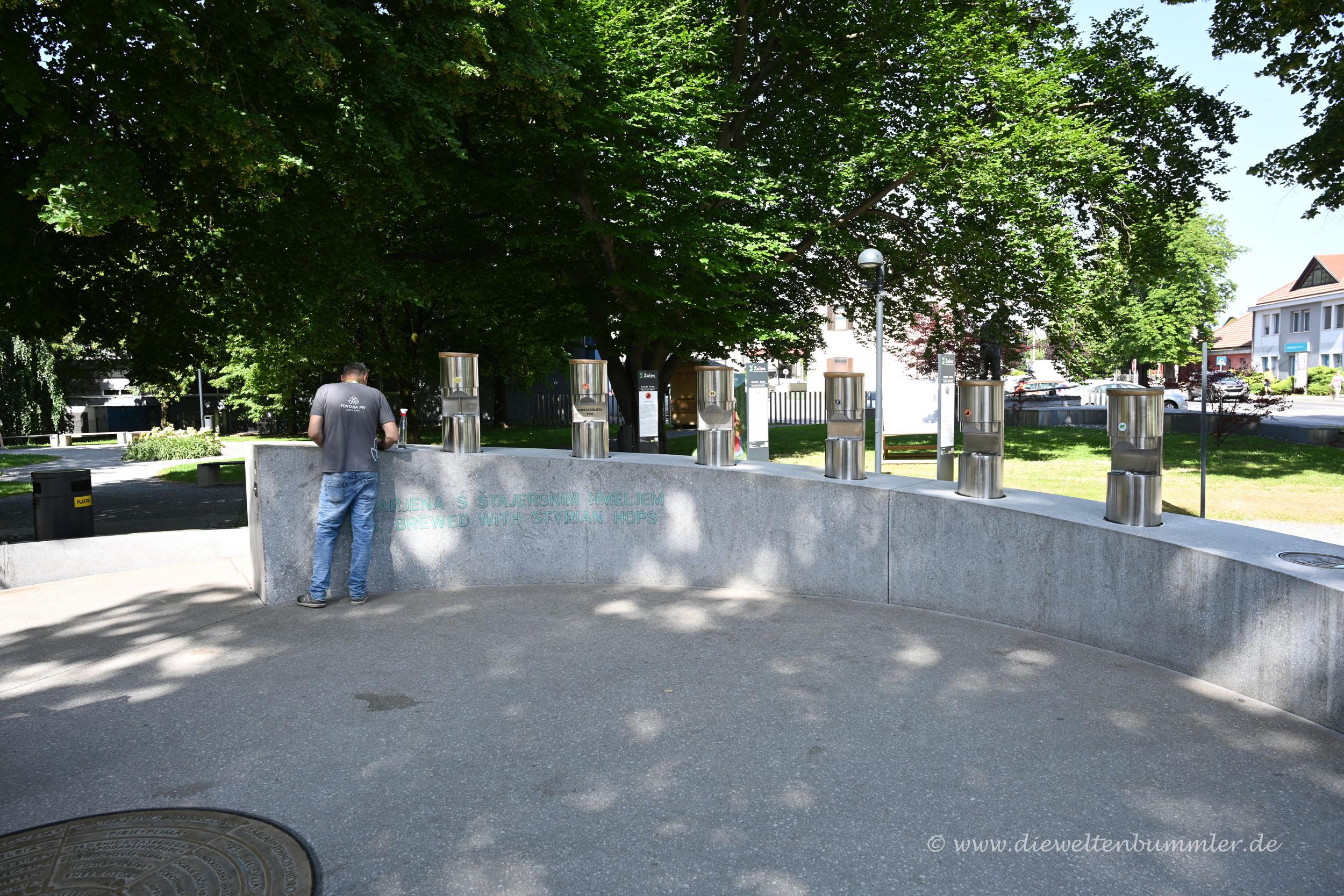Reinigung des Bierbrunnens