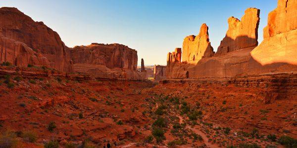 Sogenannte Park Avenue mit Moab Tongue