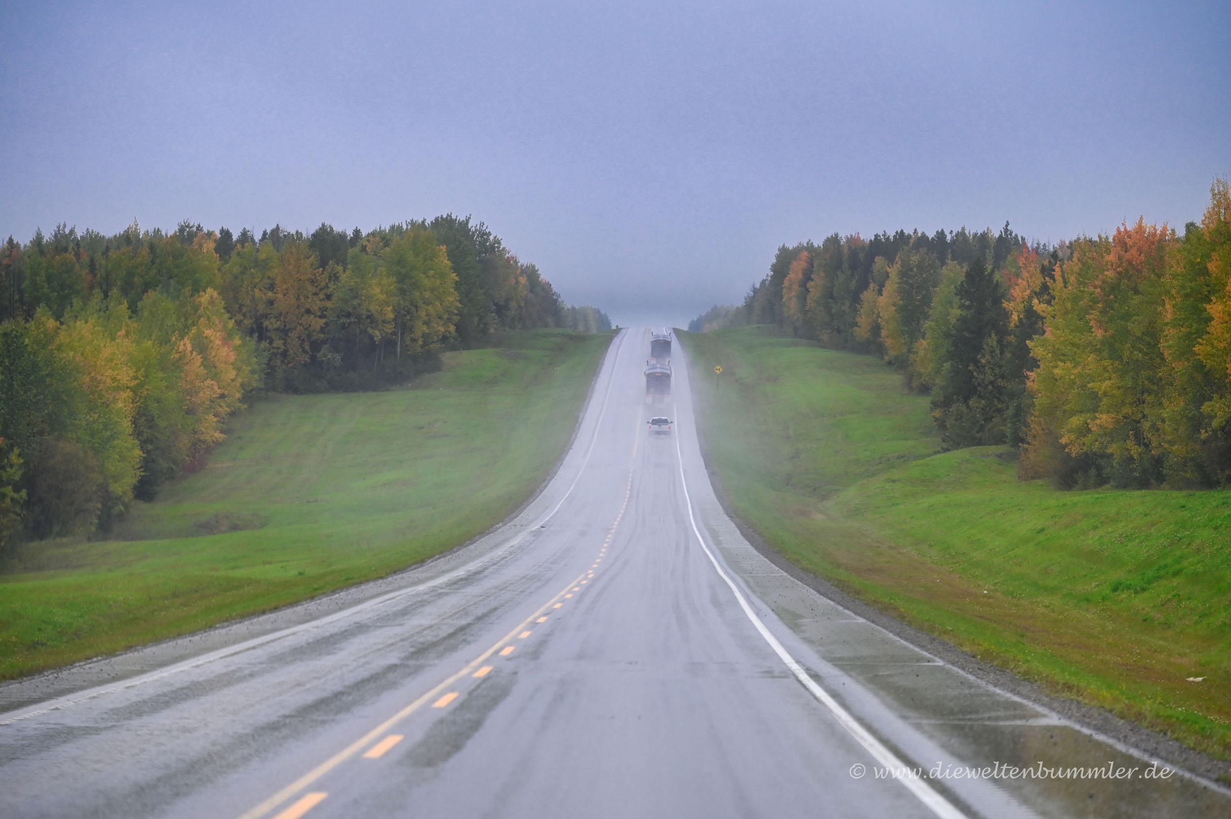 Trotz Regen gute Sicht