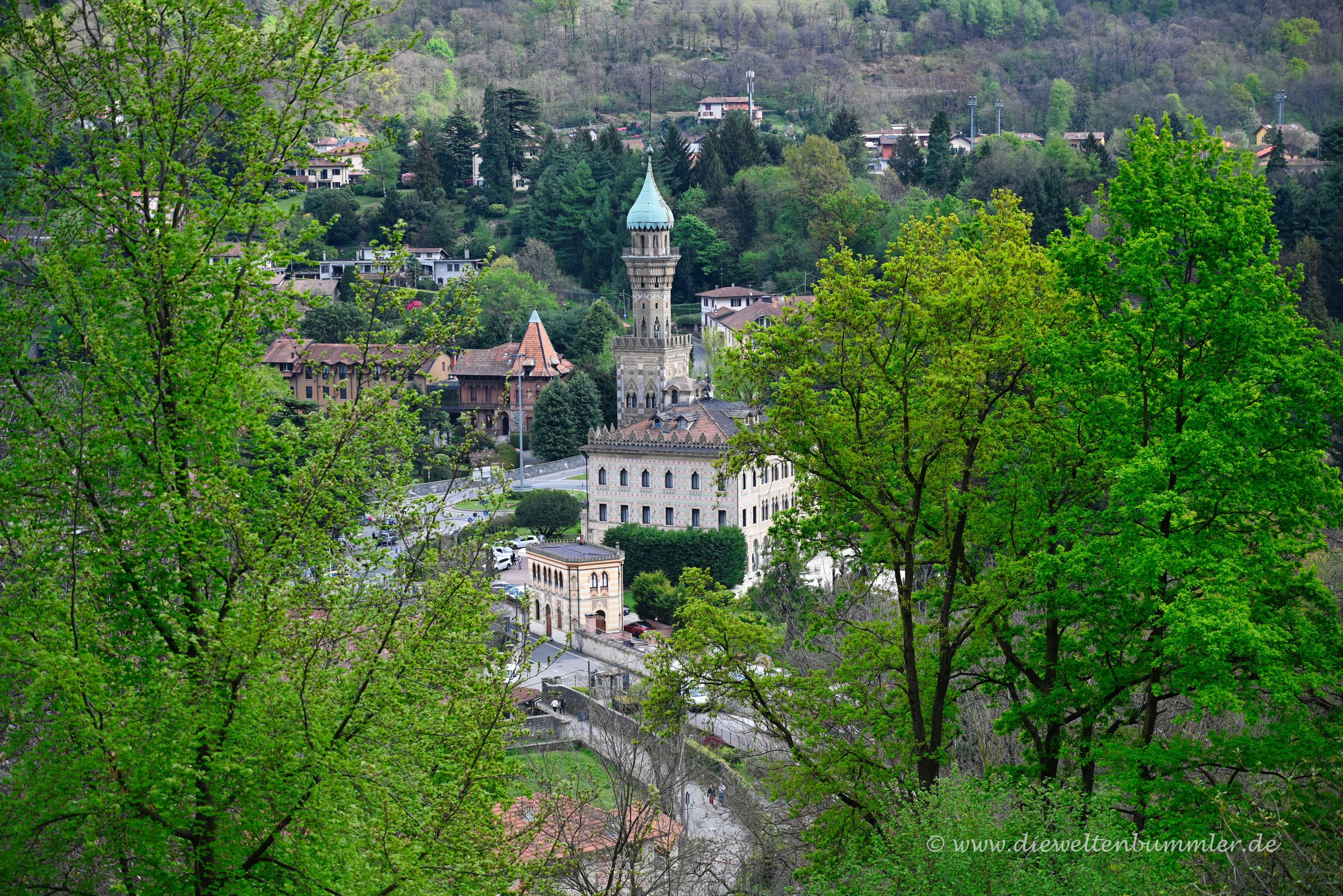Villa Crespi bei San Giulio