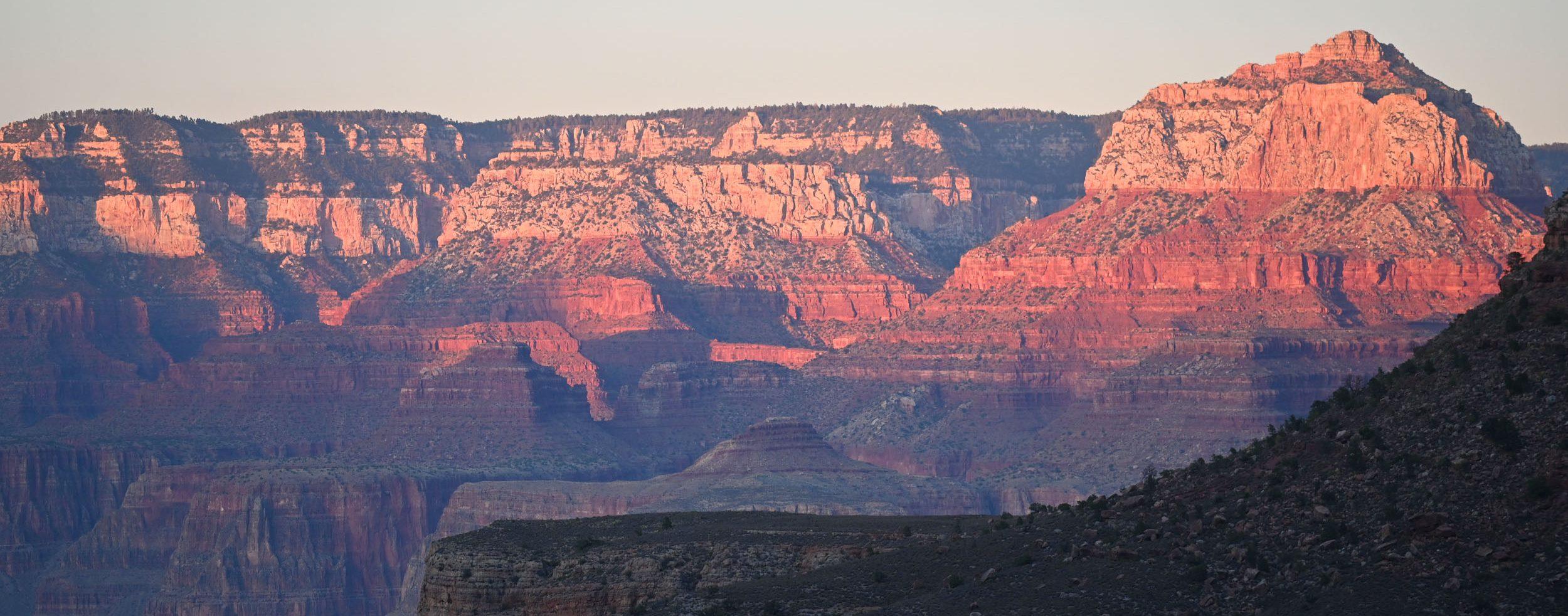 Abendrot im Canyon