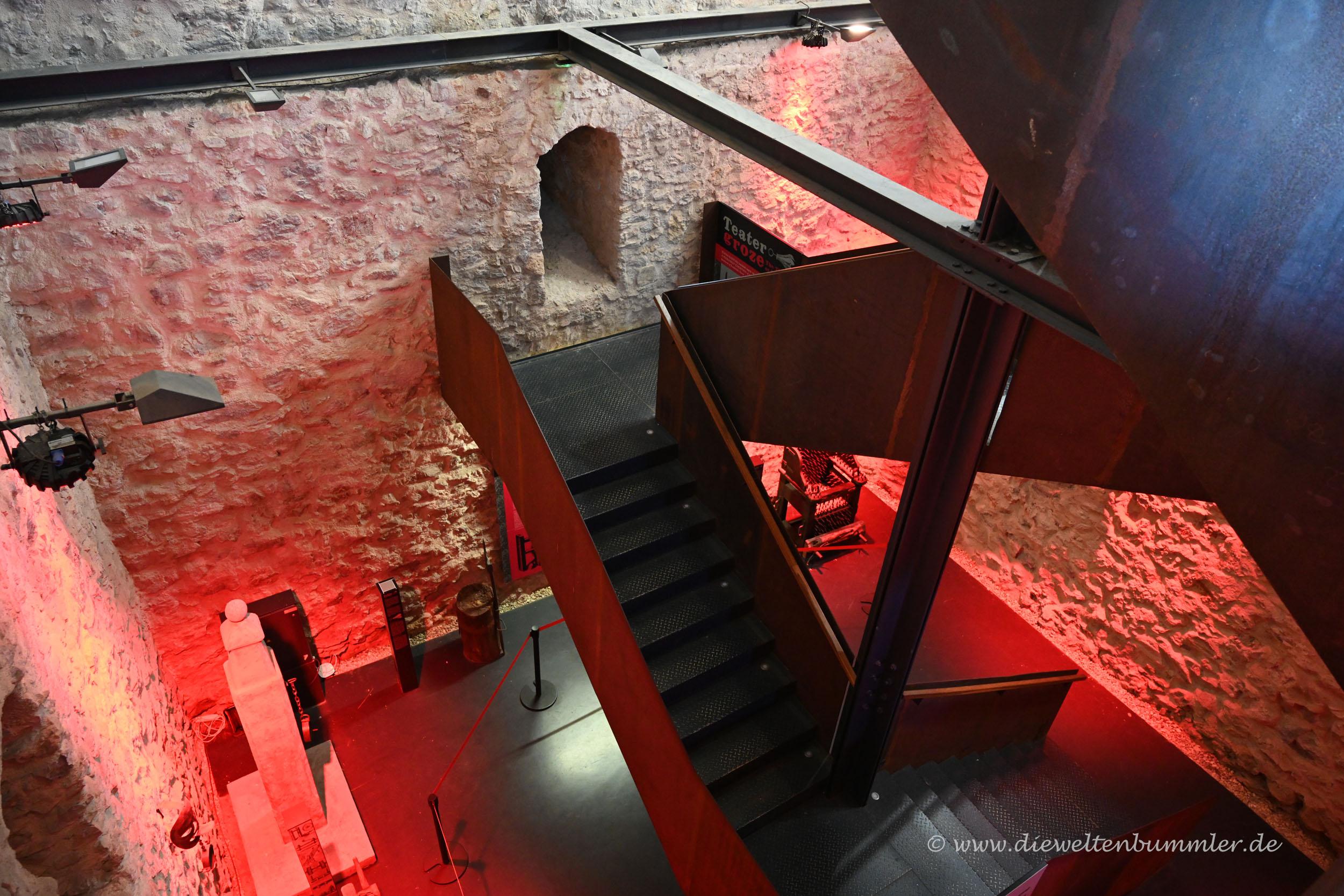 Aufgang im Turm