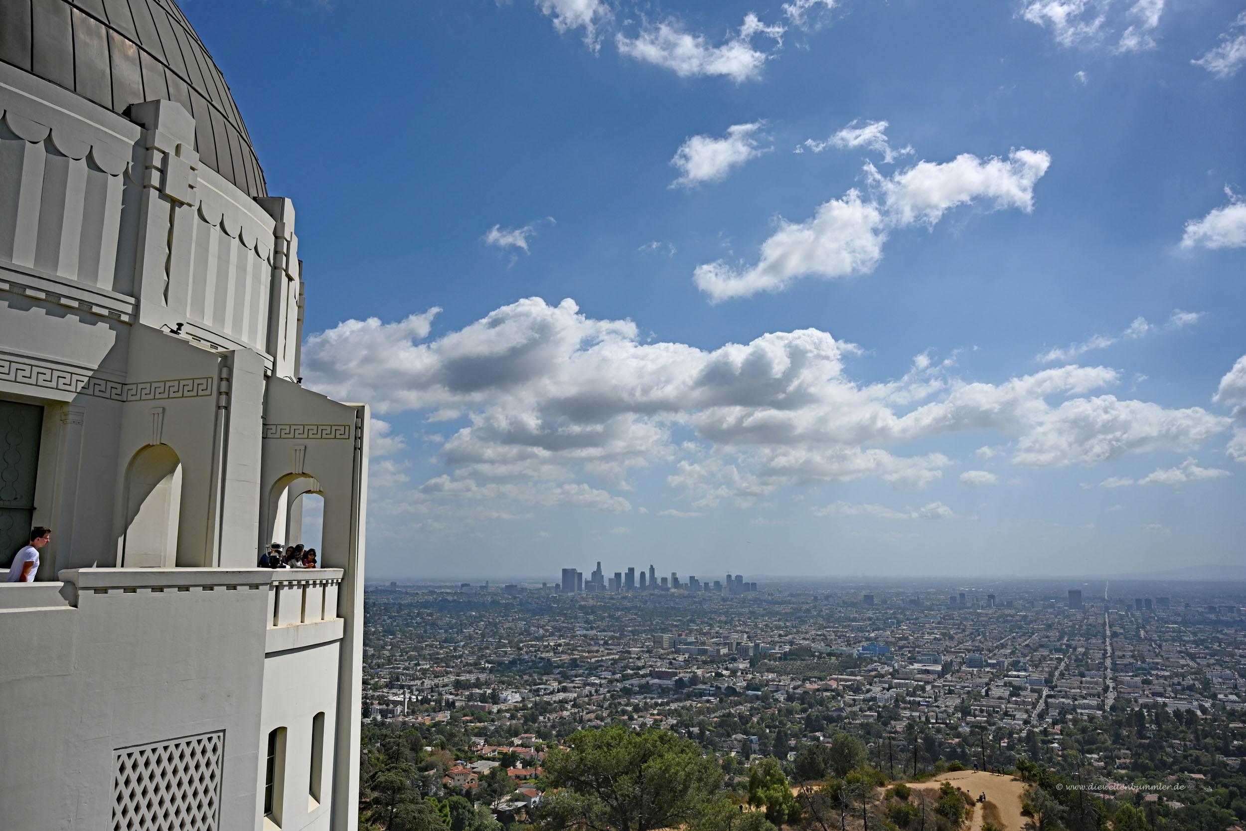 Ausblick vom Observatorium