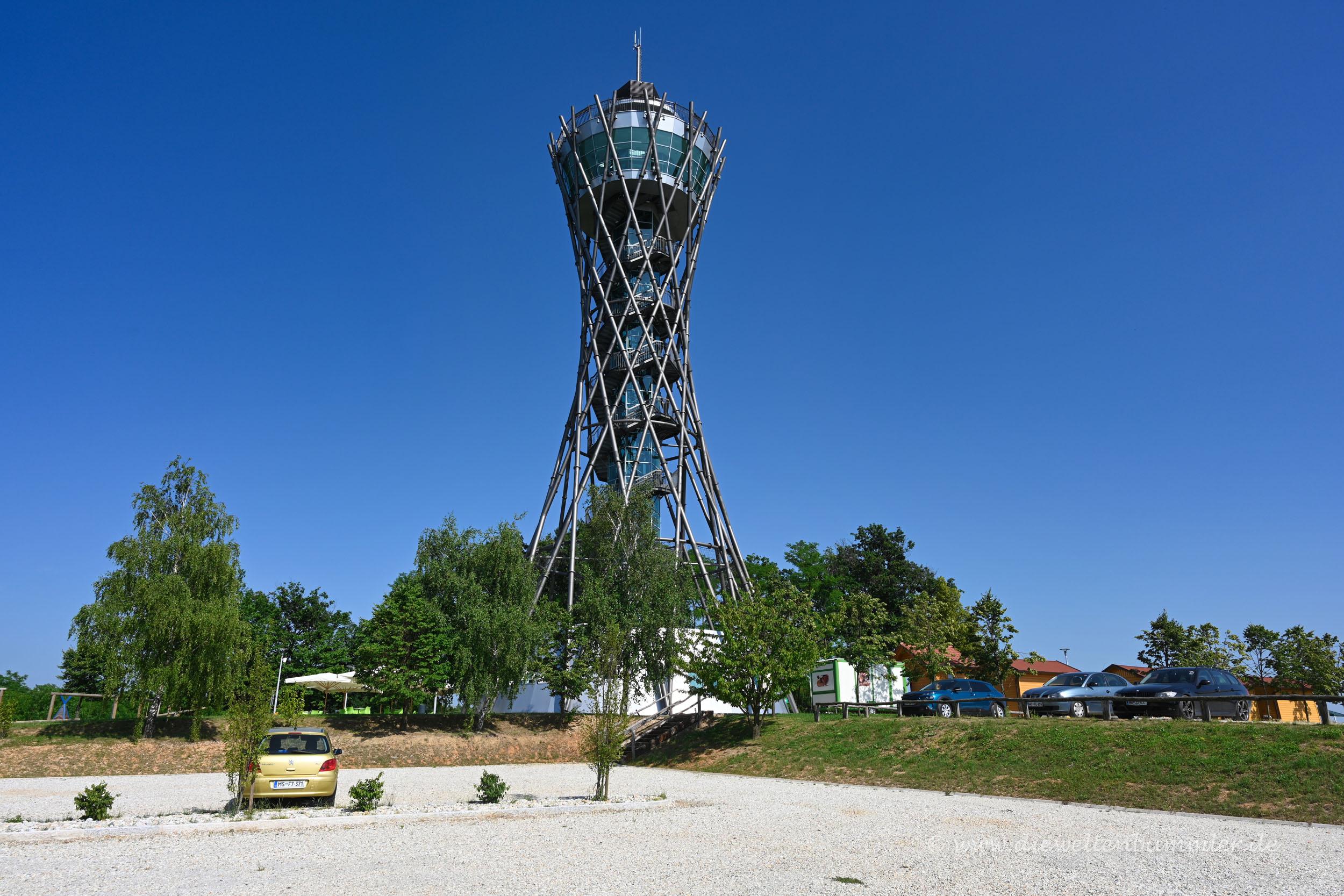 Aussichtsturm in Lendava