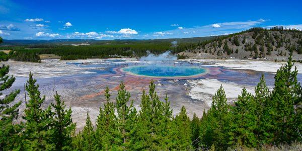 Aussicht im Yellowstone Nationalpark