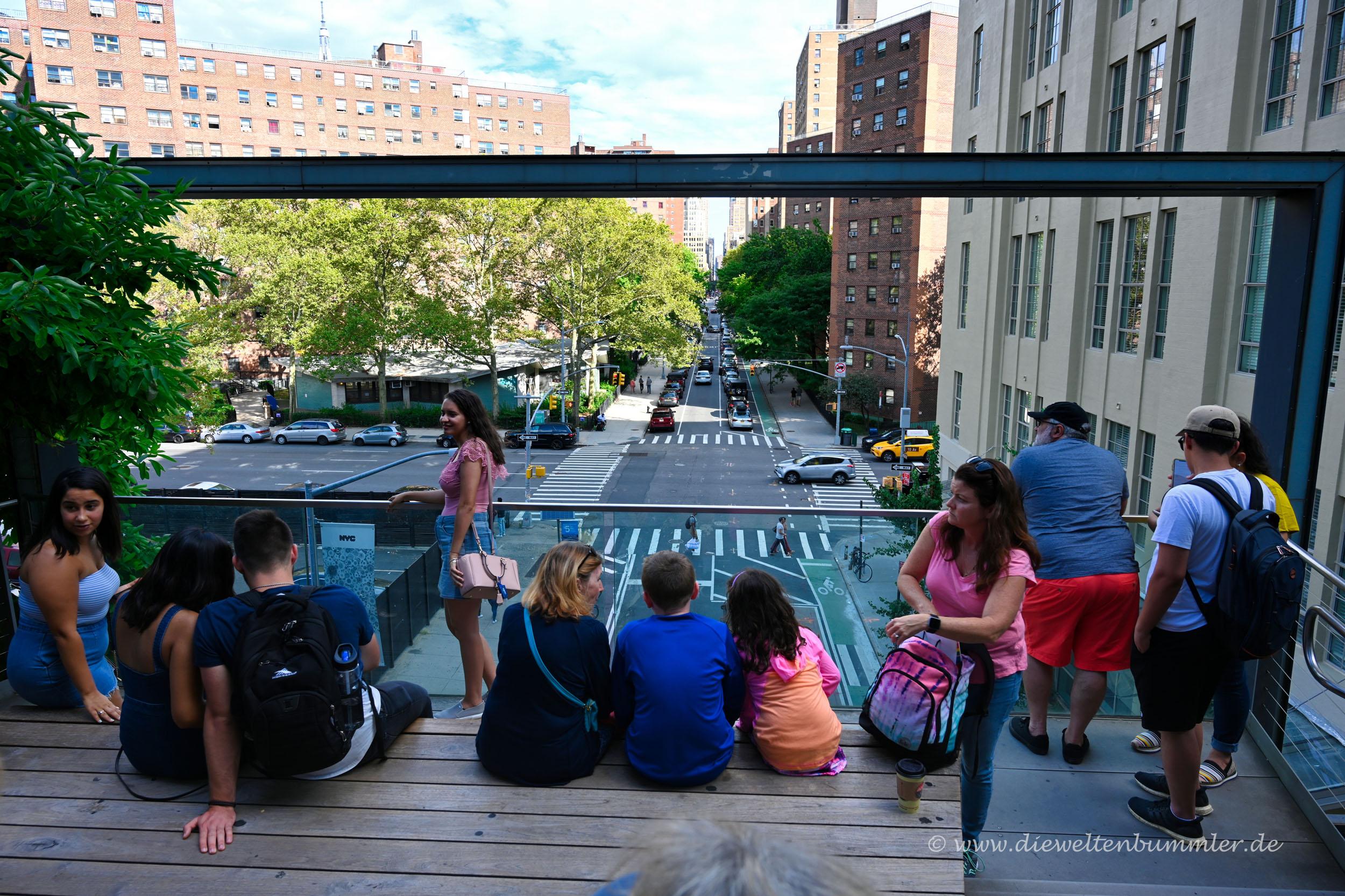 Aussichtspunkt an der Highline