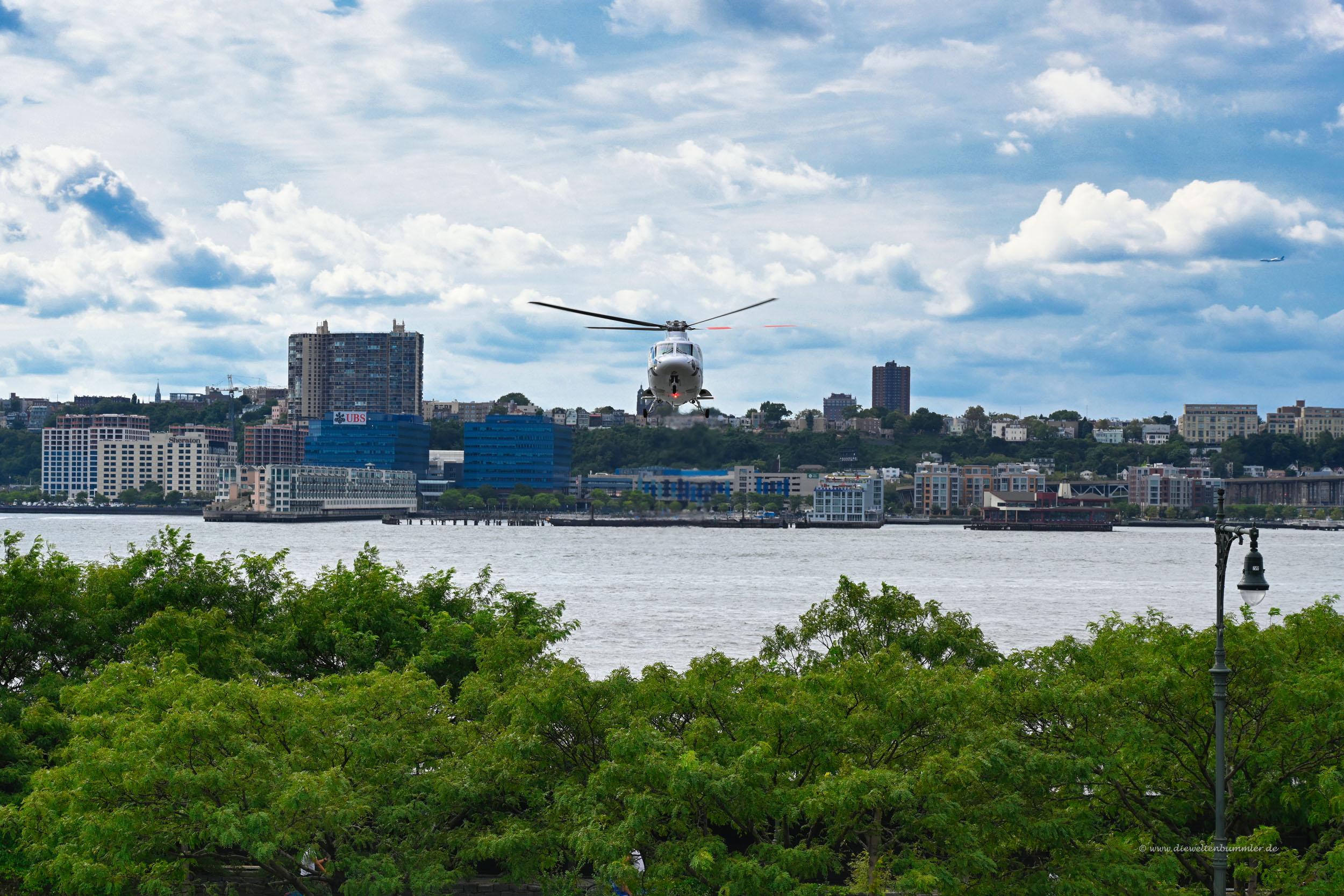 Blick auf den Hudson River