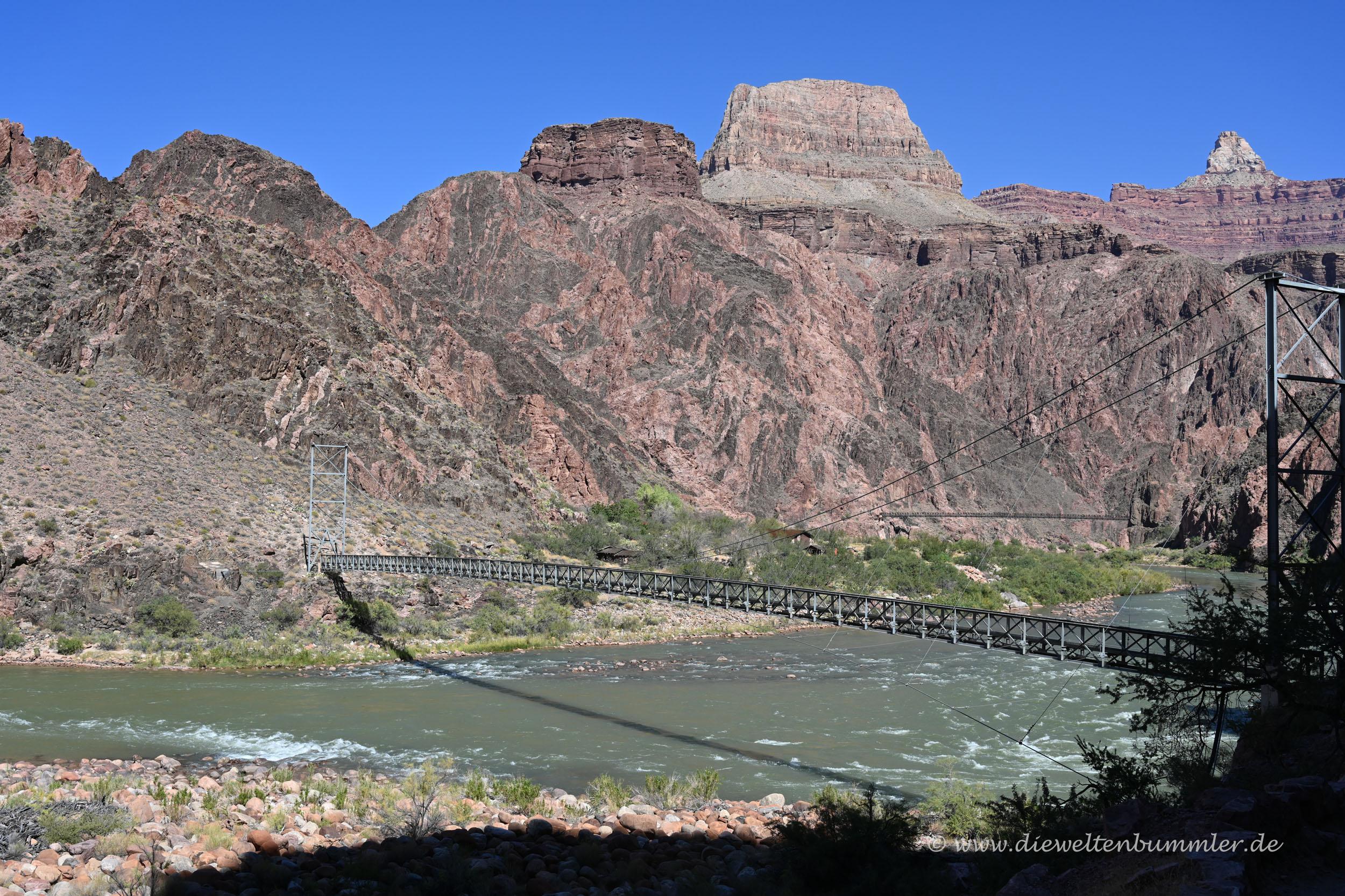 Brücke im Grand Canyon