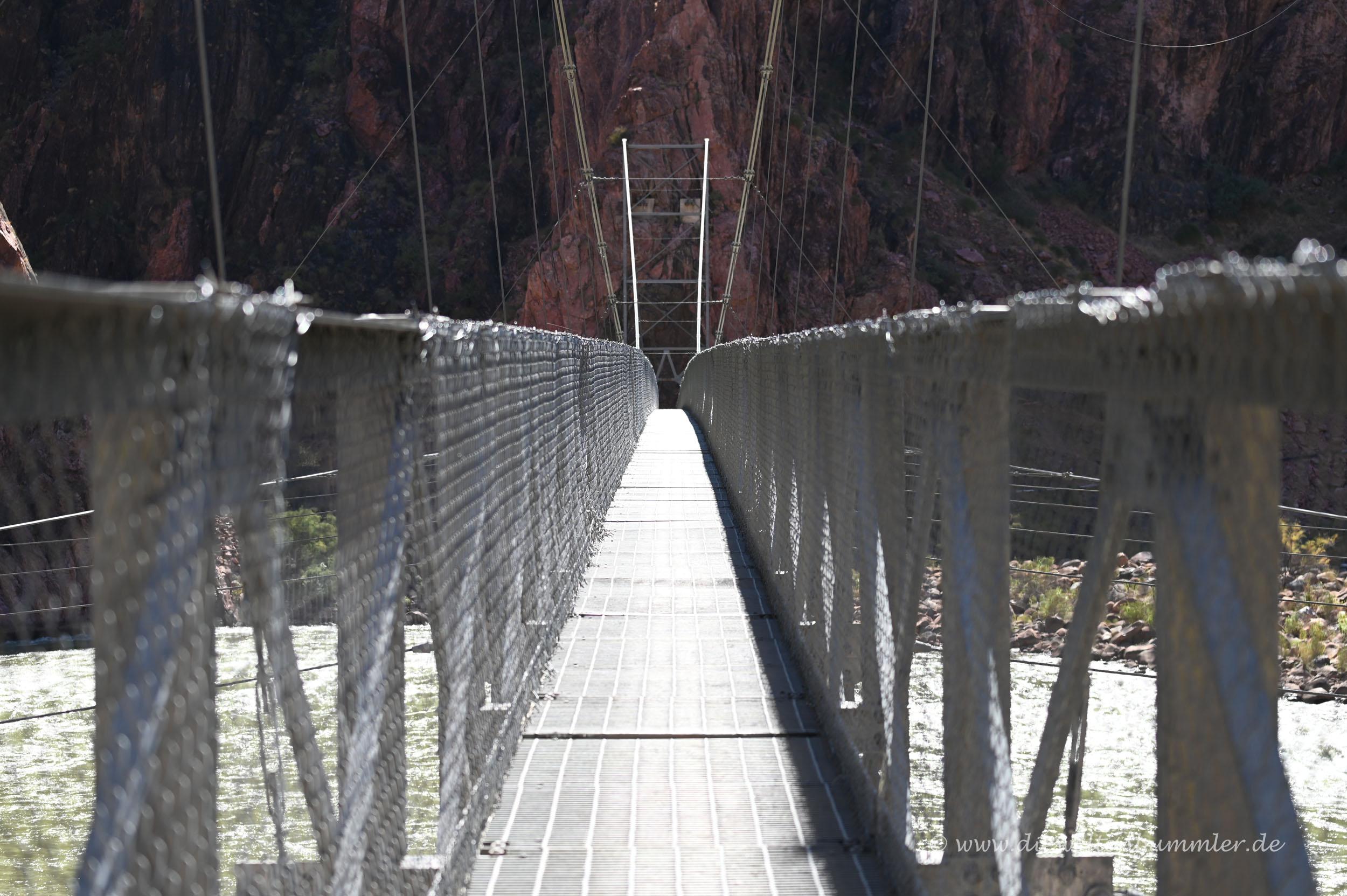 Brücke vom Bright Angel Trail