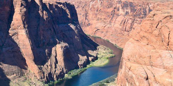 Der Fluss auf dem Weg zum Grand Canyon