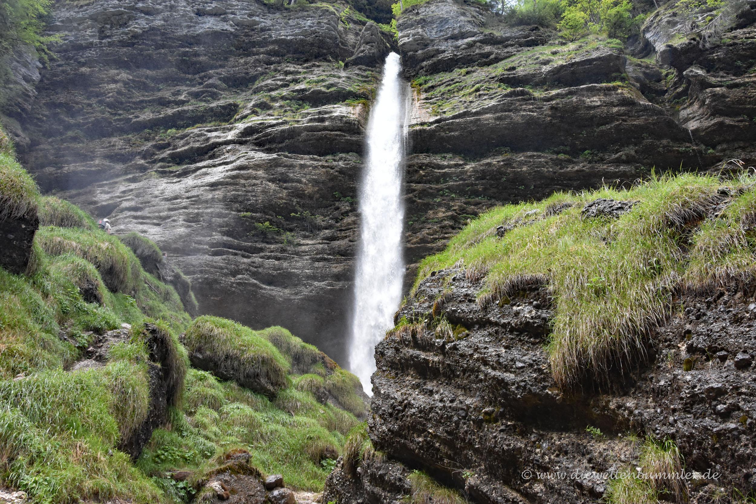 Der Peričnik-Wasserfall
