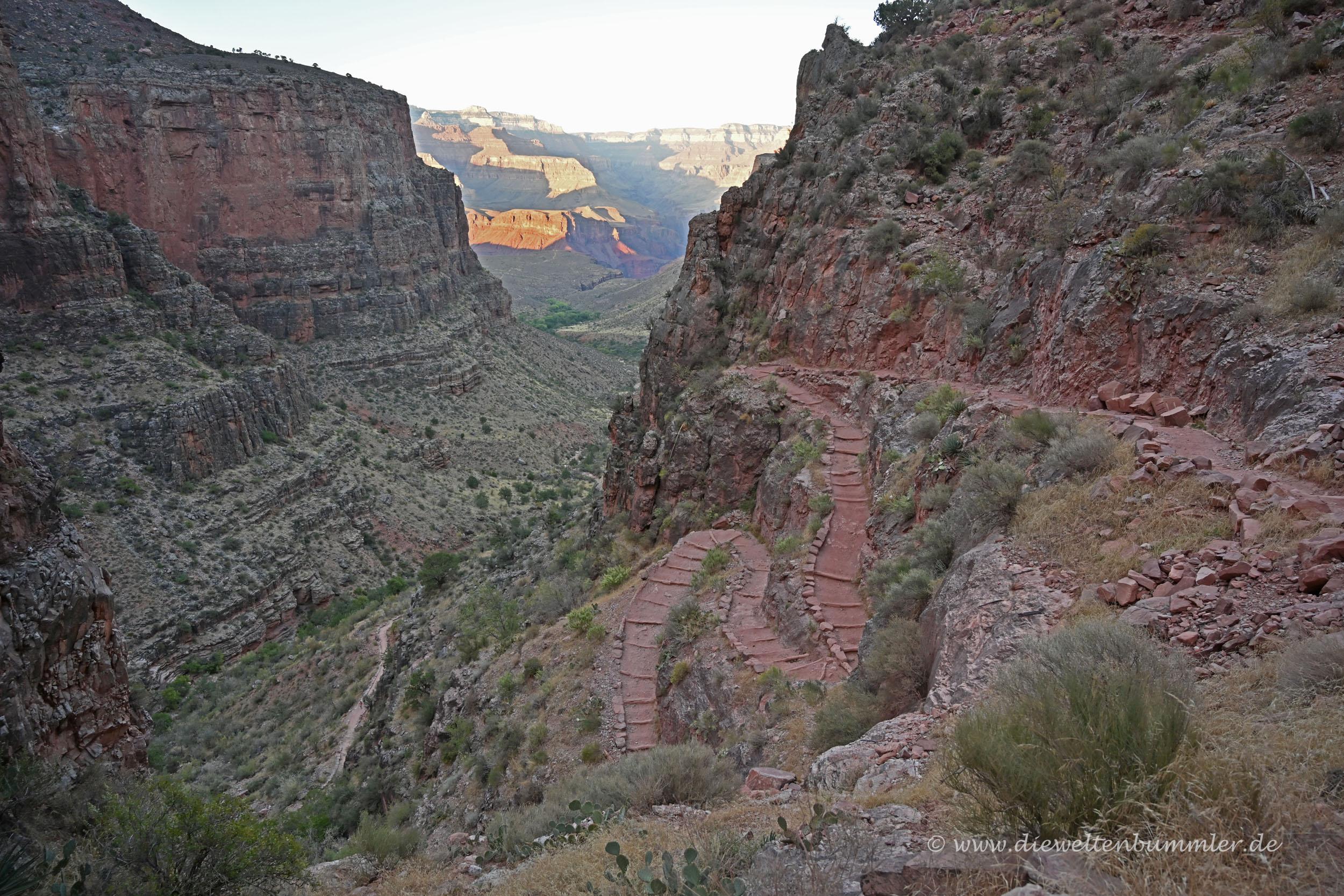 Der Trail ist gut erkennbar