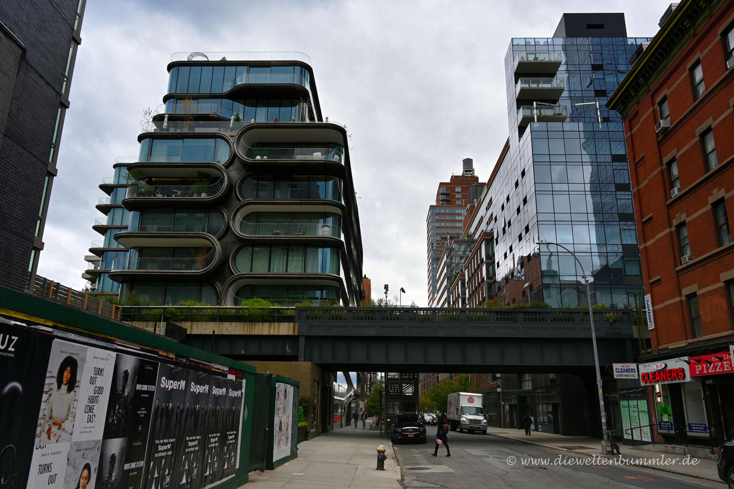 Die Highline von unten