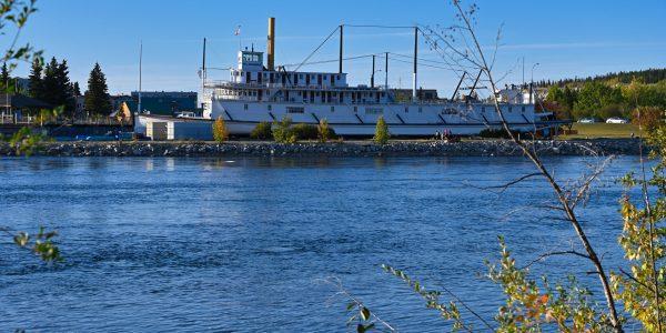 Die SS Klondike von der anderen Seite