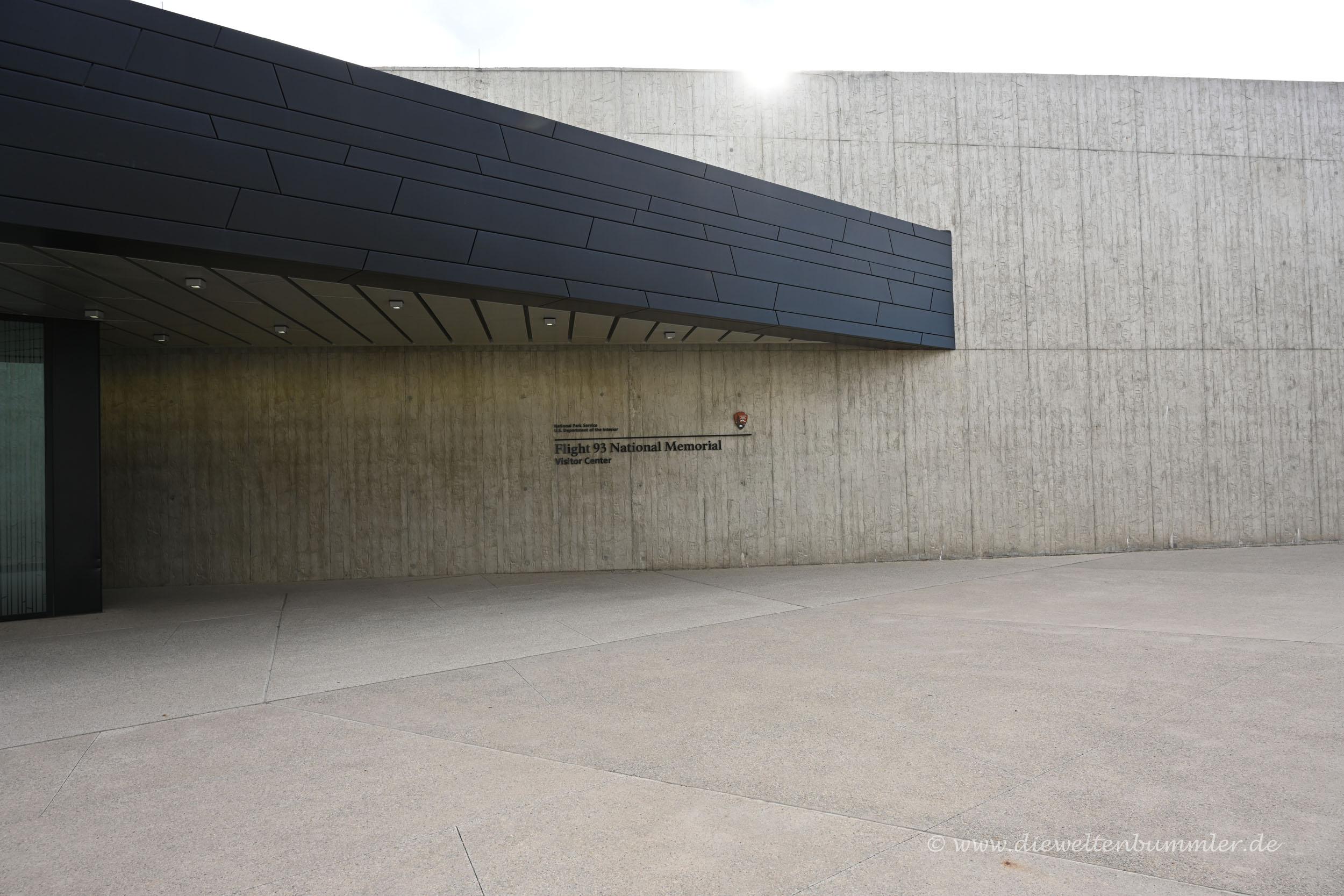 Eingang zum Besucherzentrum
