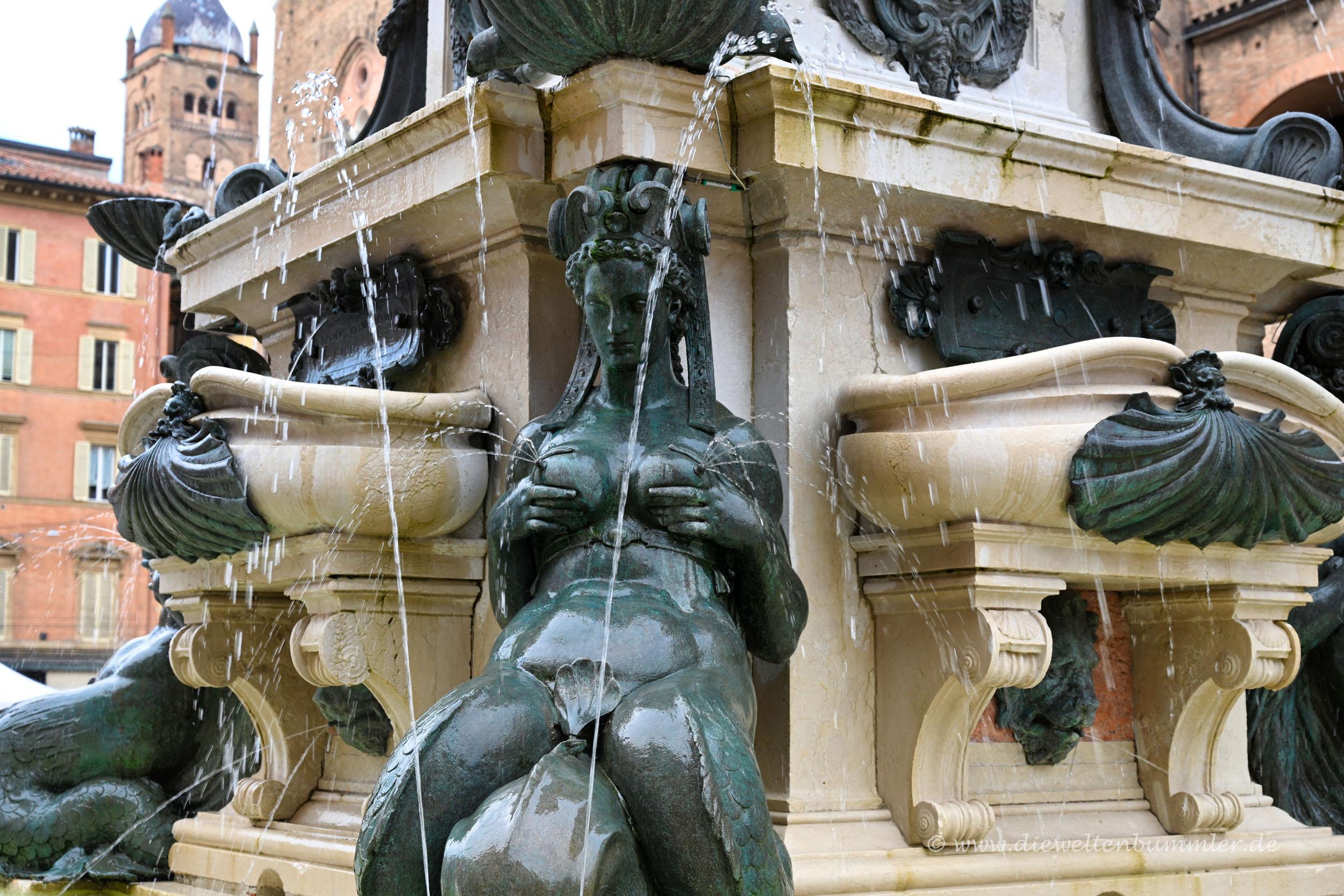 Etwas anrüchiger Neptunbrunnen