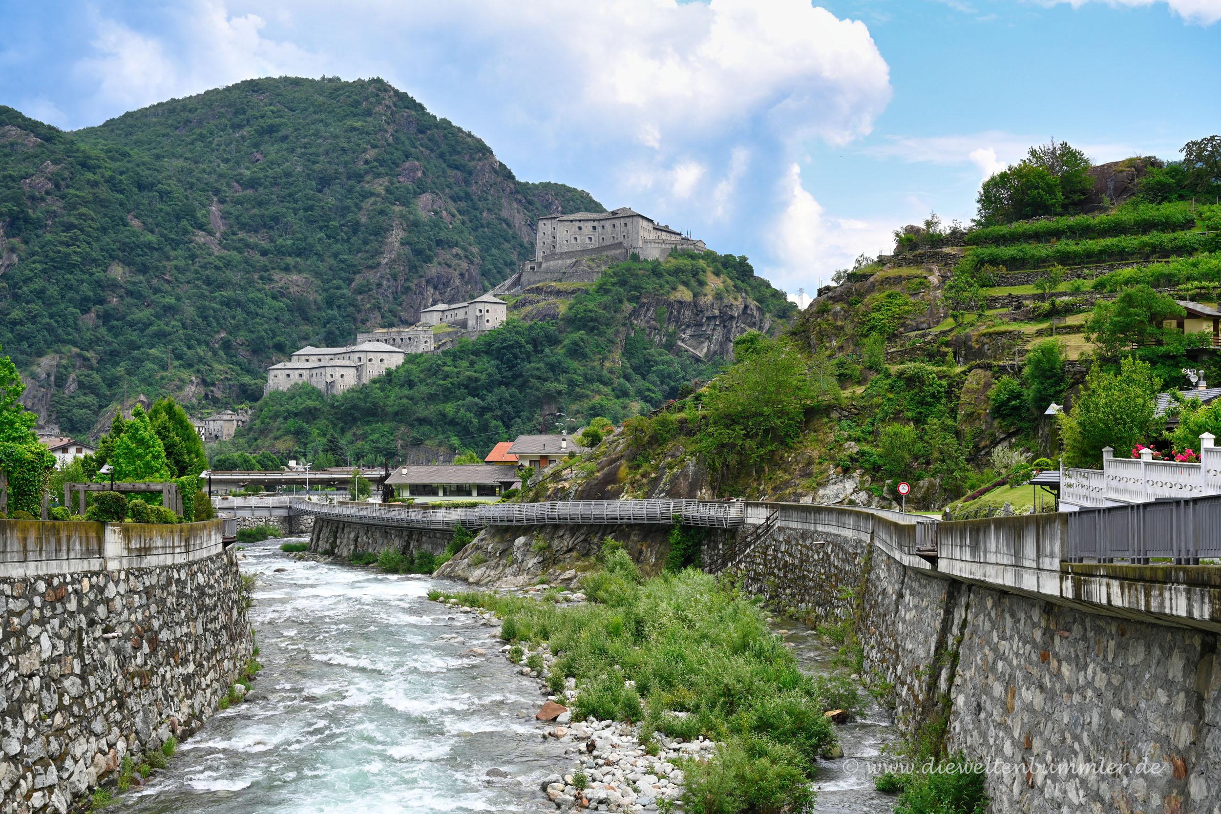 Fluss in Bard